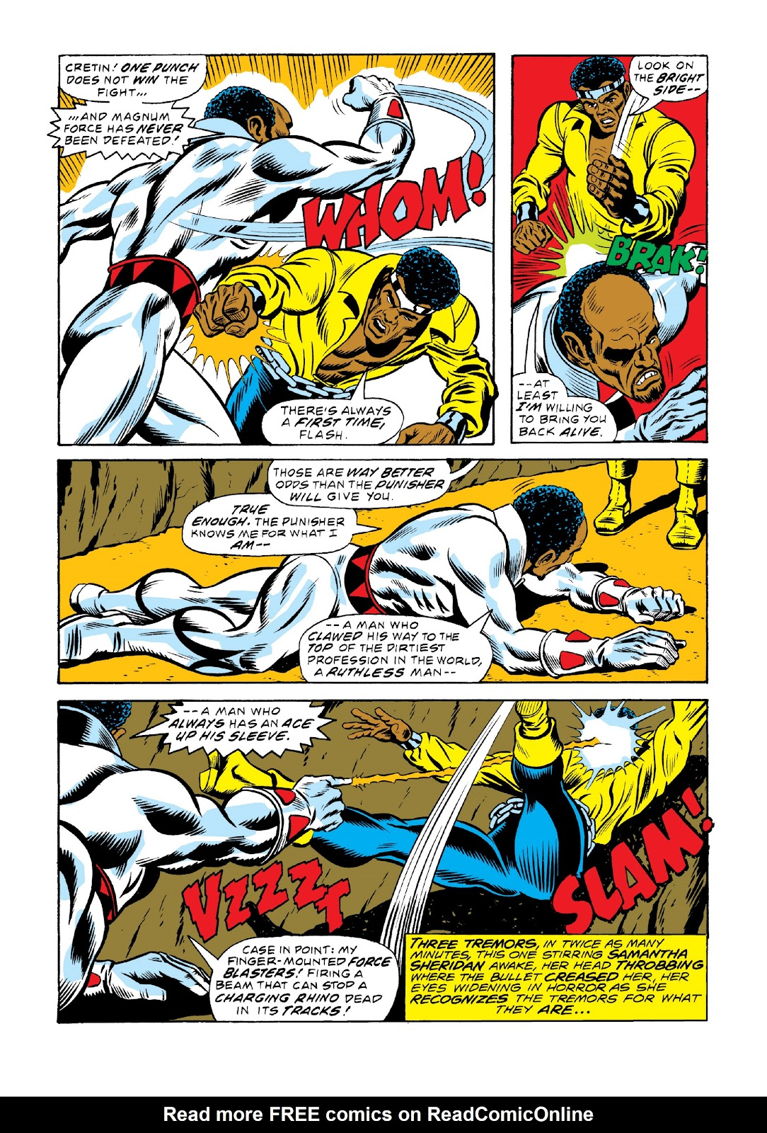 Read online Marvel Masterworks: Luke Cage, Power Man comic -  Issue # TPB 3 (Part 2) - 11
