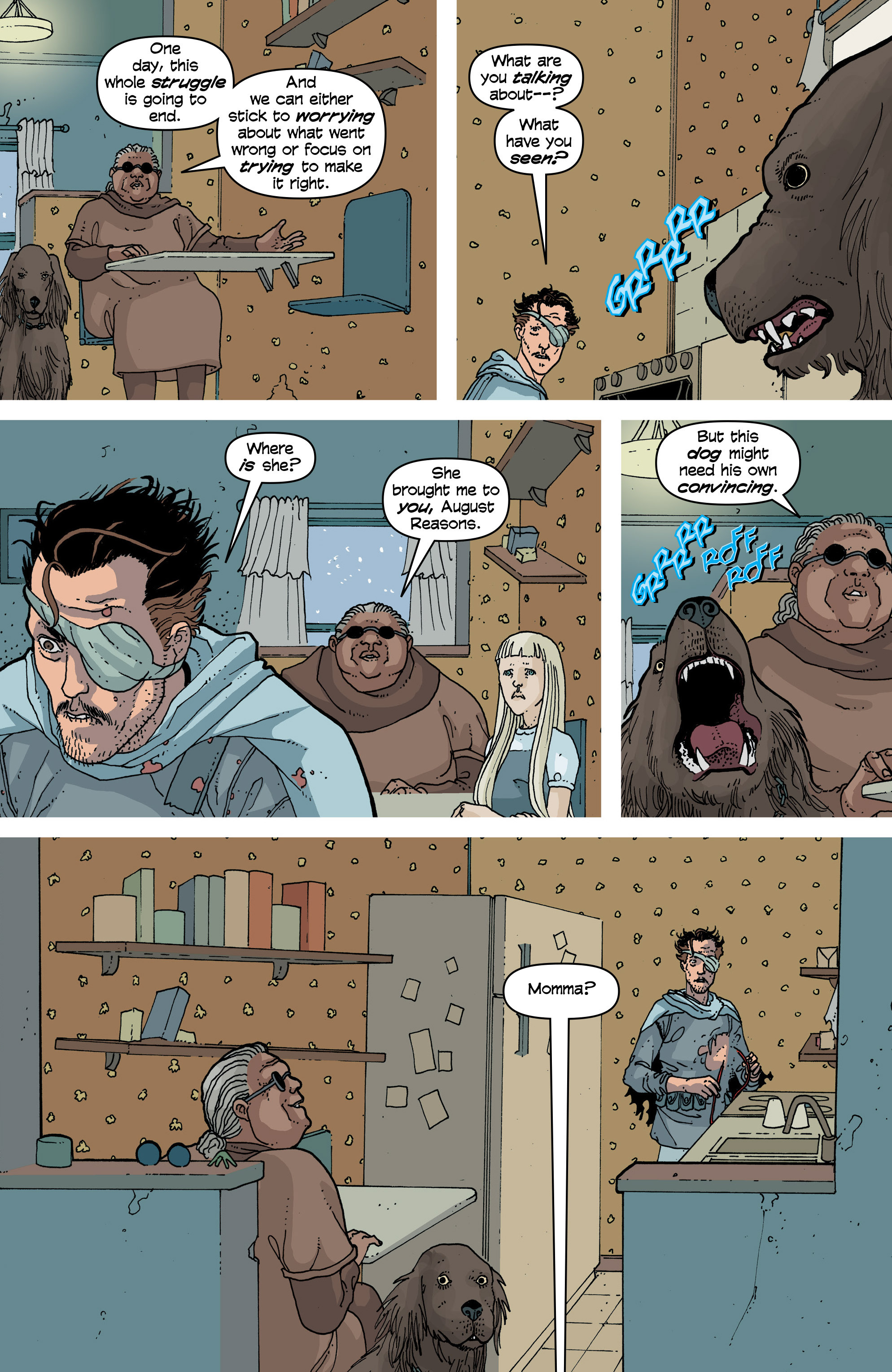 Read online Snowfall comic -  Issue #6 - 18