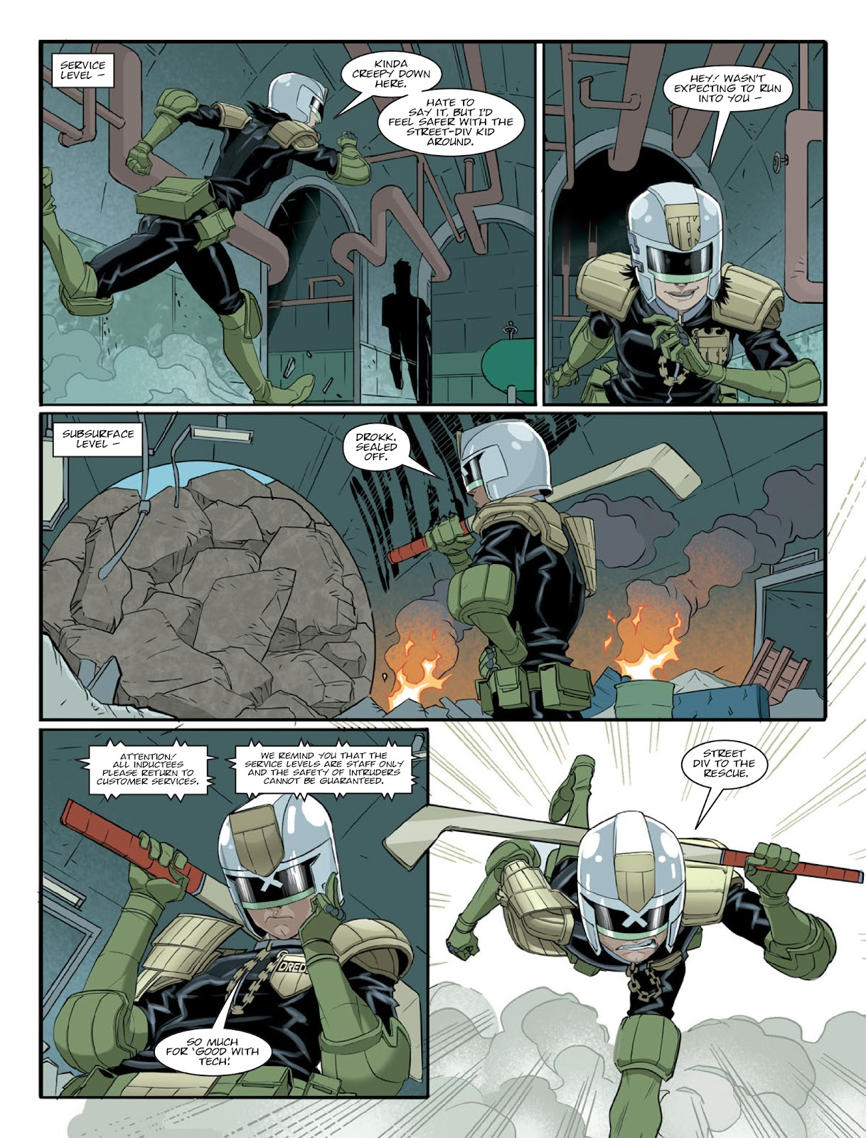 2000 AD issue 2220 - Page 9