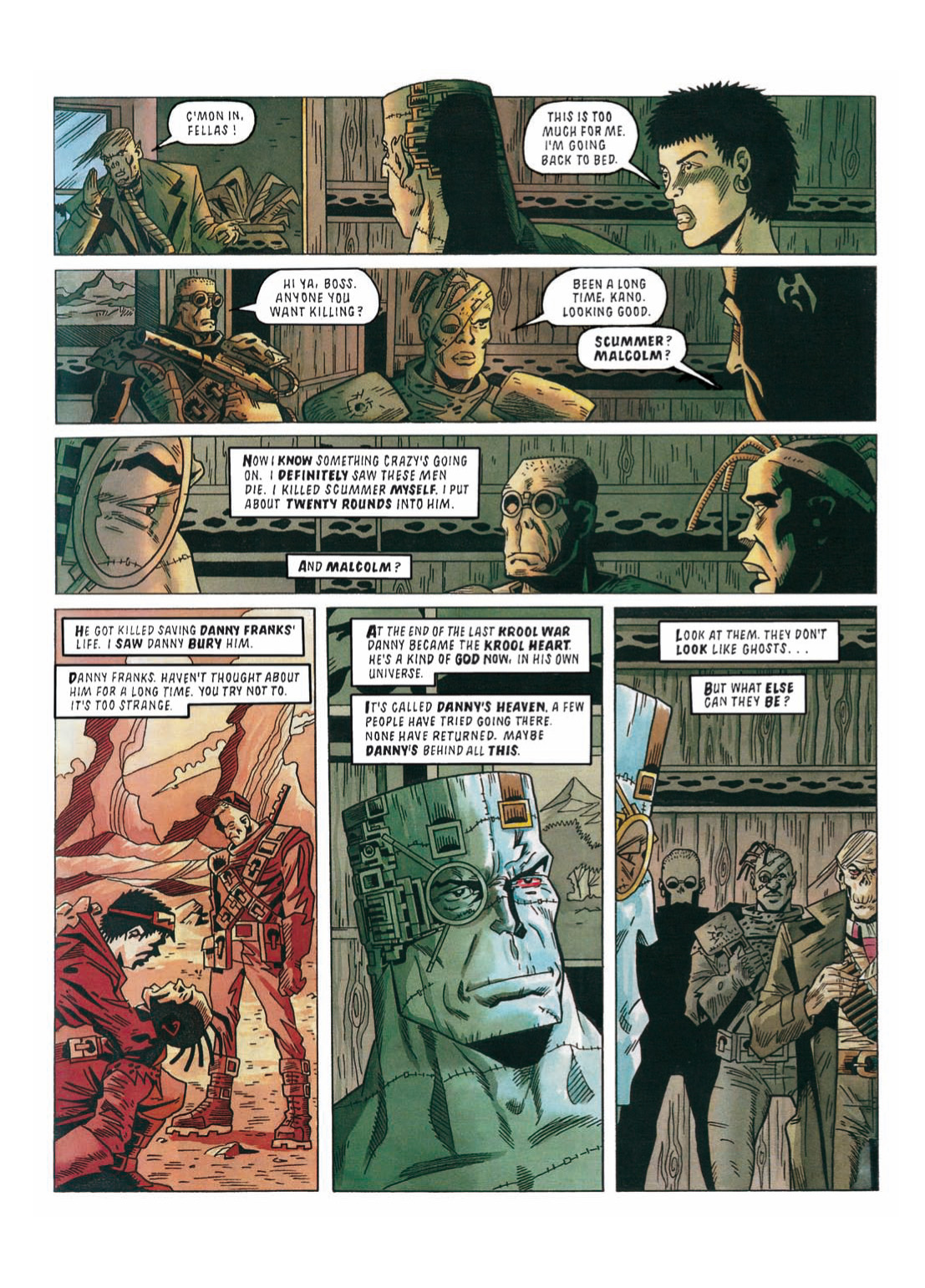 Read online The Complete Bad Company comic -  Issue # TPB - 270