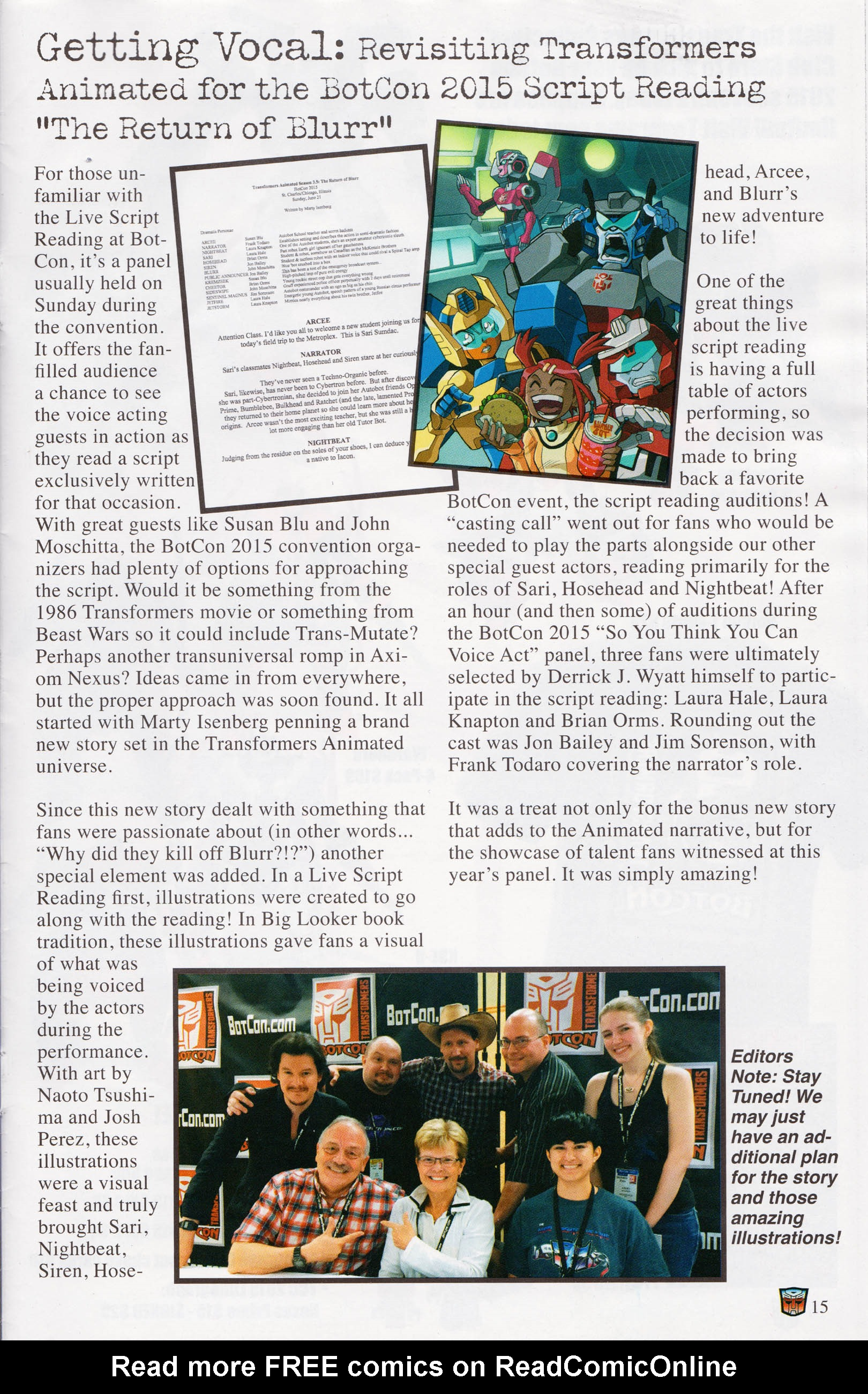 Read online Transformers: Collectors' Club comic -  Issue #64 - 15