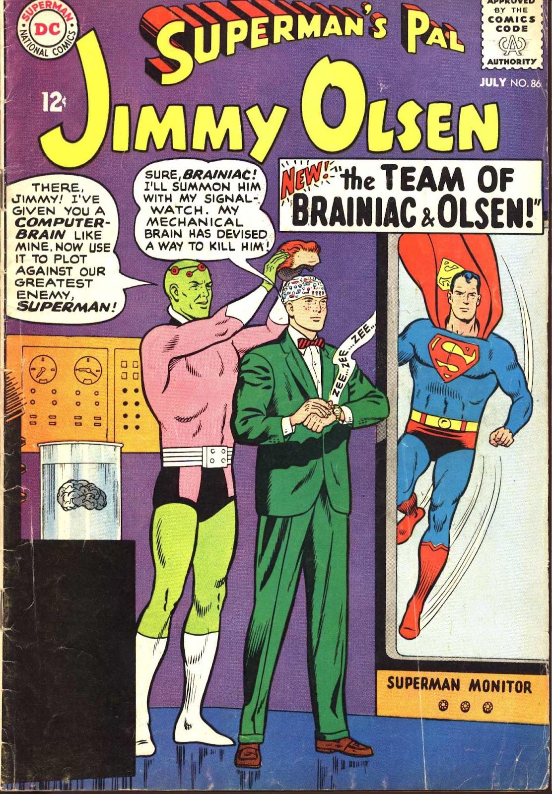 Supermans Pal Jimmy Olsen (1954) 86 Page 1