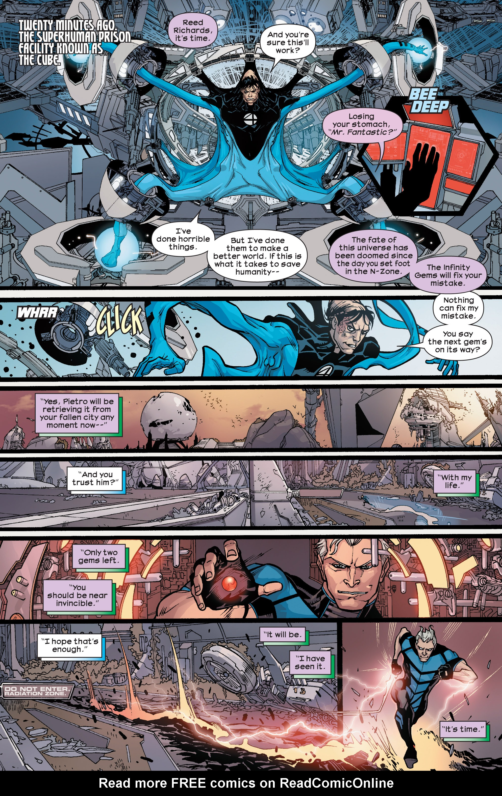 Read online Ultimate Comics Ultimates comic -  Issue #25 - 15