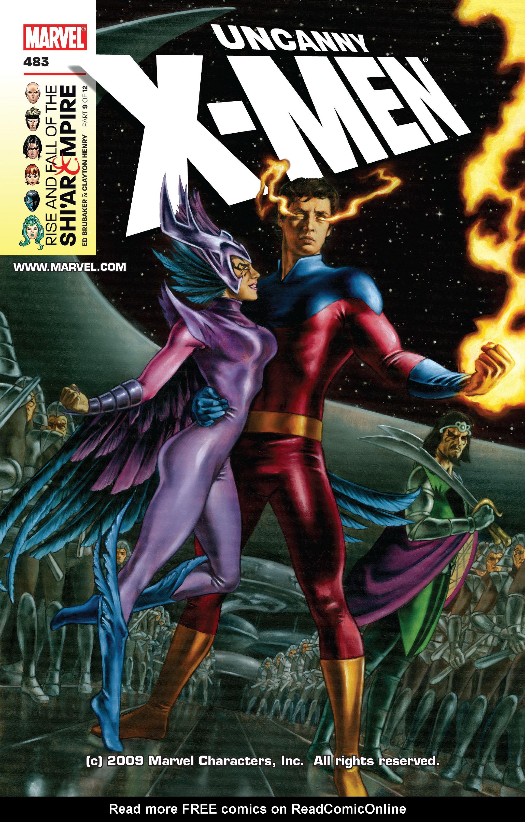 Uncanny X-Men (1963) 483 Page 1
