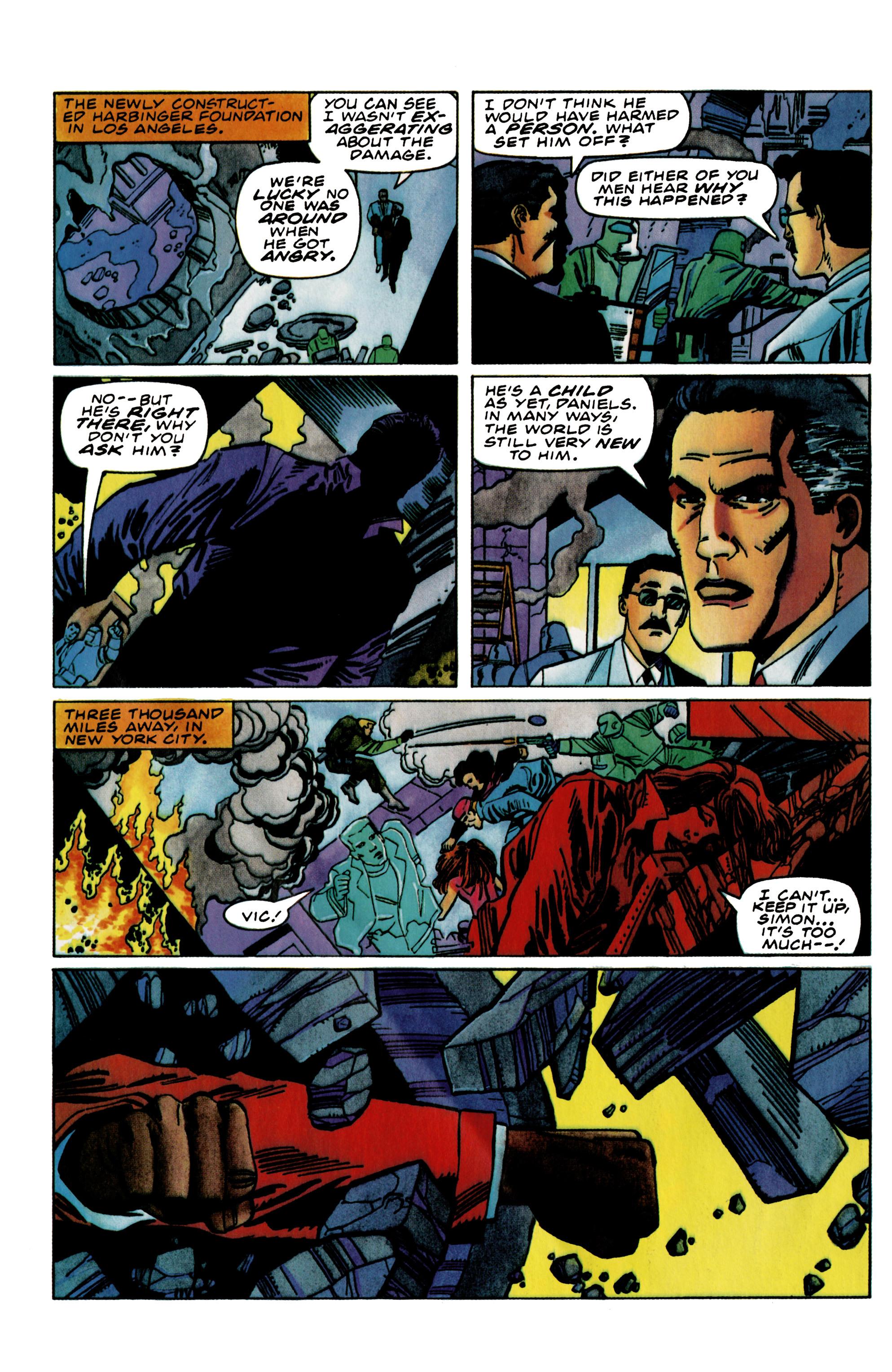 Read online Harbinger (1992) comic -  Issue #39 - 20