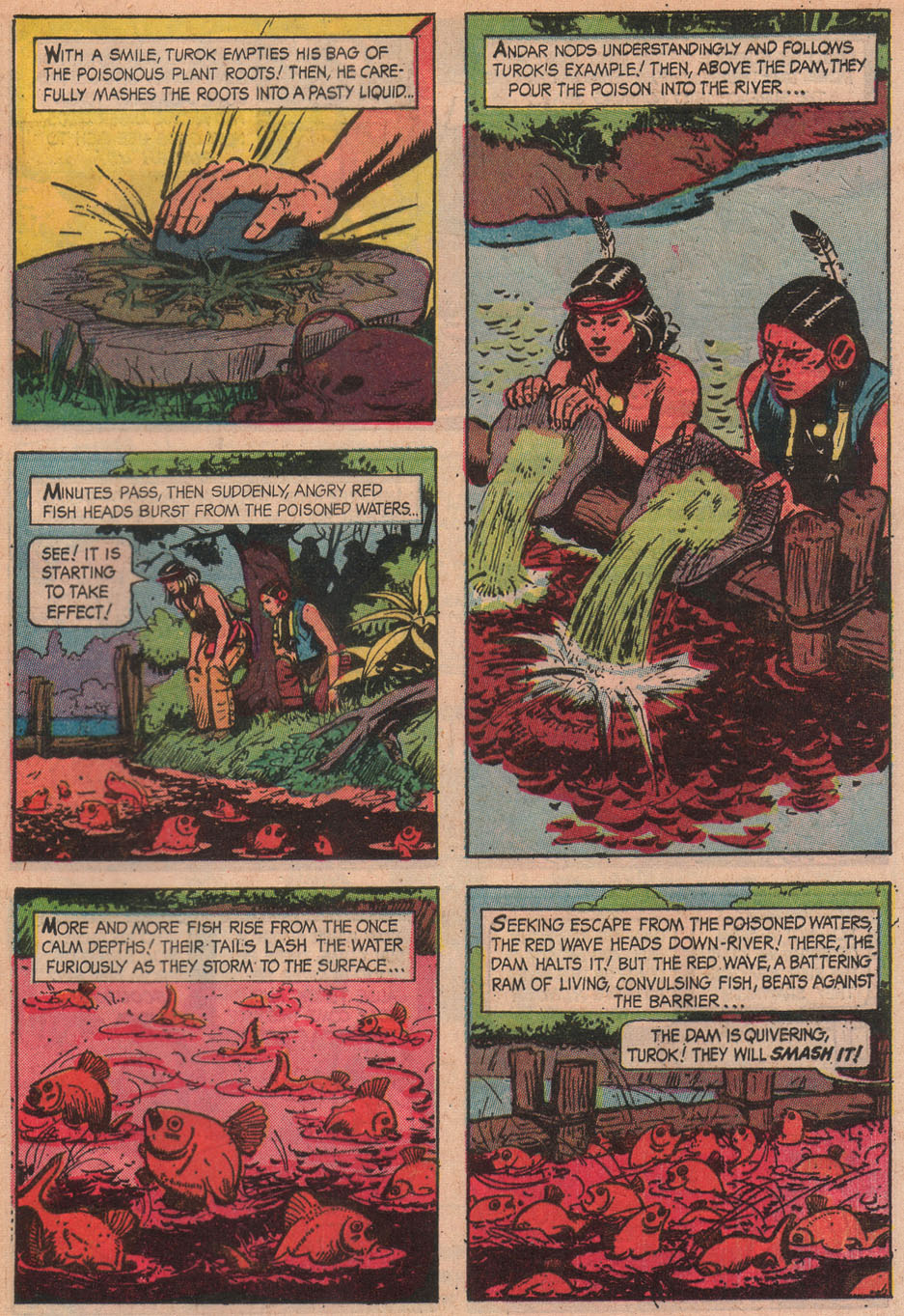 Read online Turok, Son of Stone comic -  Issue #51 - 33