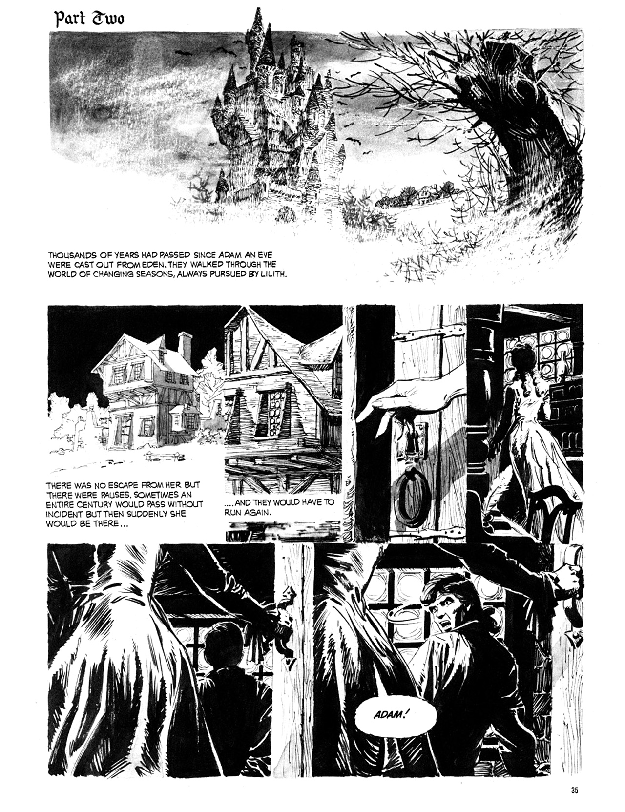 Read online Eerie Archives comic -  Issue # TPB 10 - 36