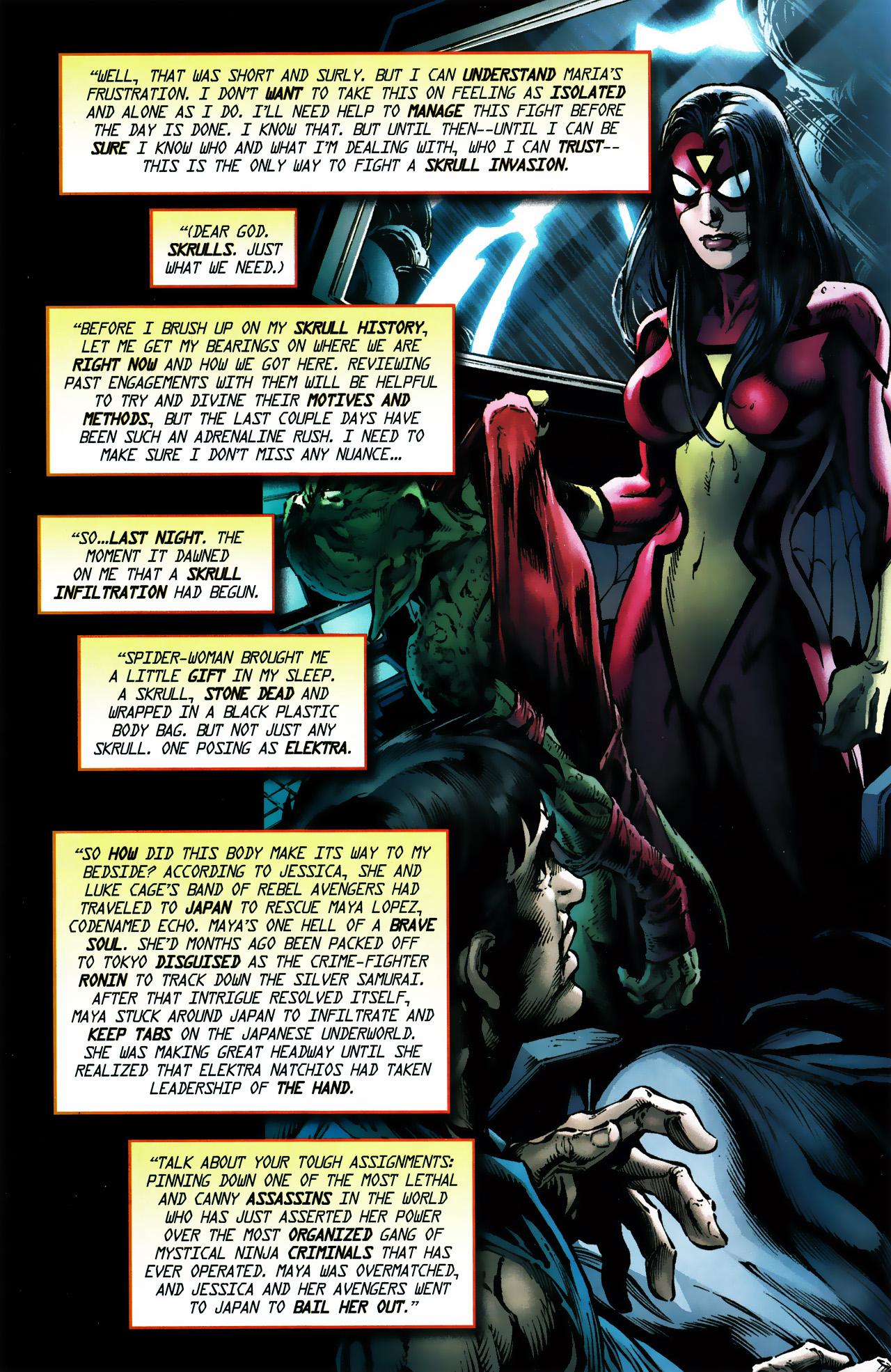 Read online Secret Invasion Saga comic -  Issue # Full - 4