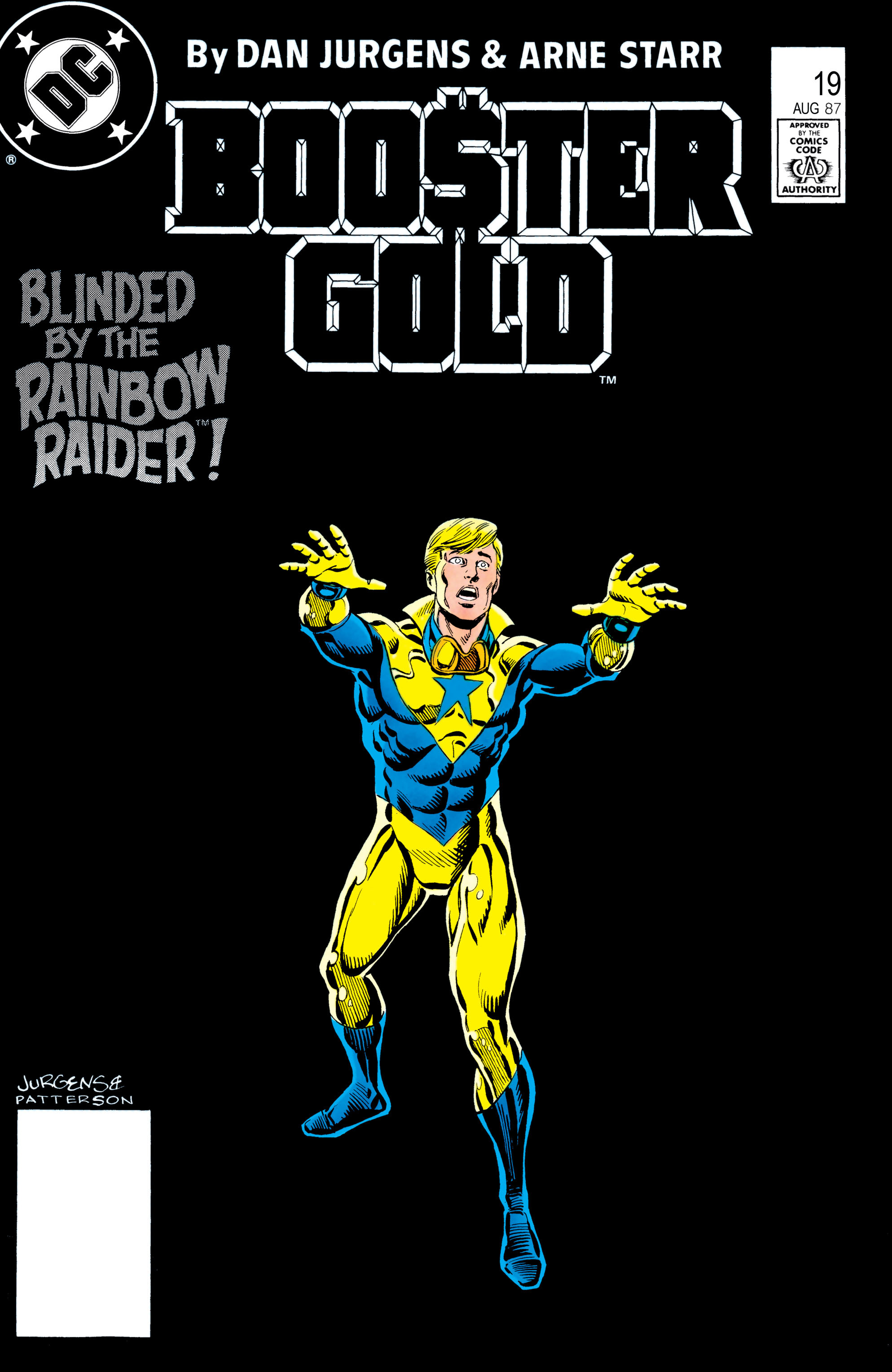 Booster Gold 1986 Issue 20