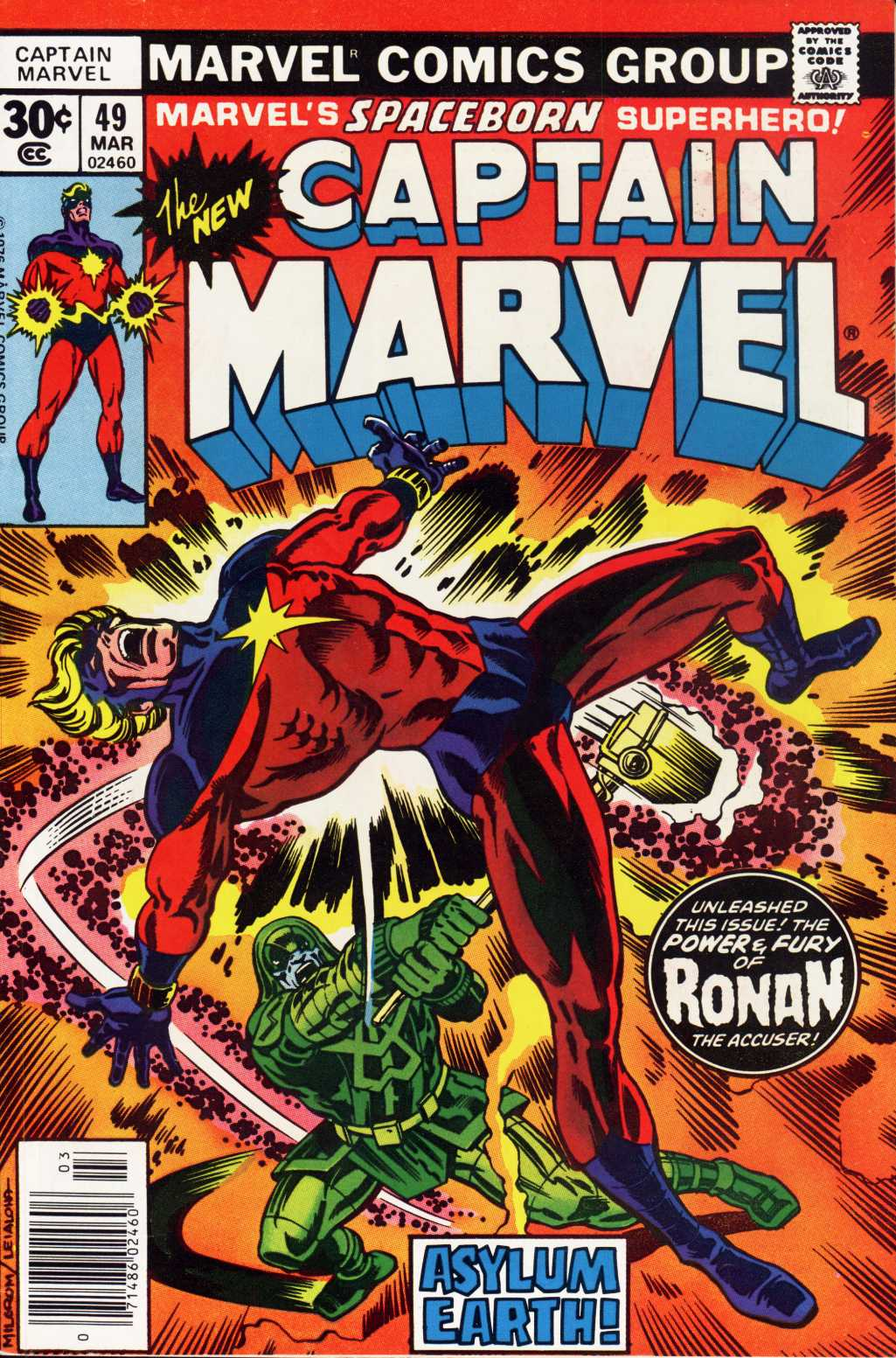 Captain Marvel (1968) 49 Page 1
