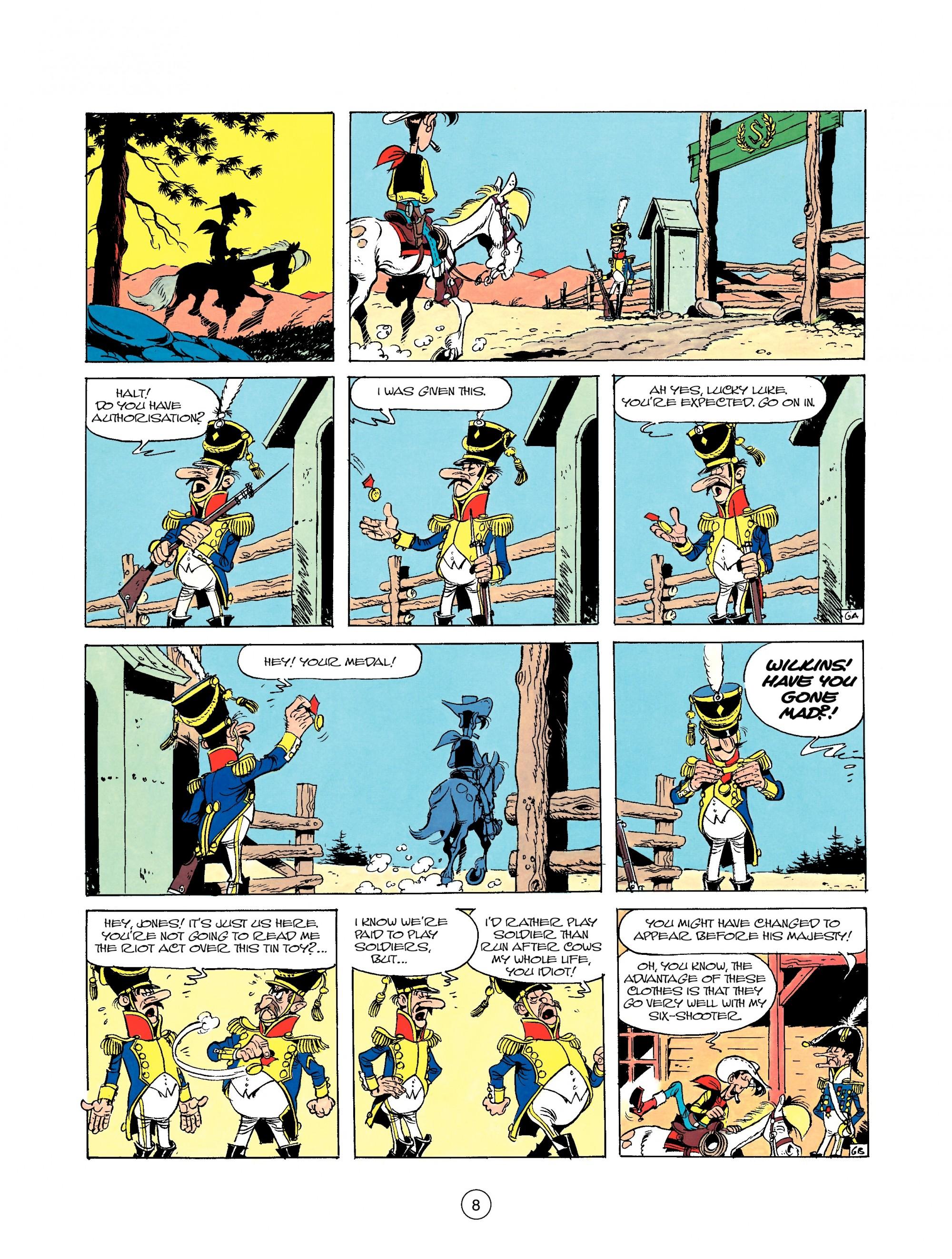 Read online A Lucky Luke Adventure comic -  Issue #22 - 8