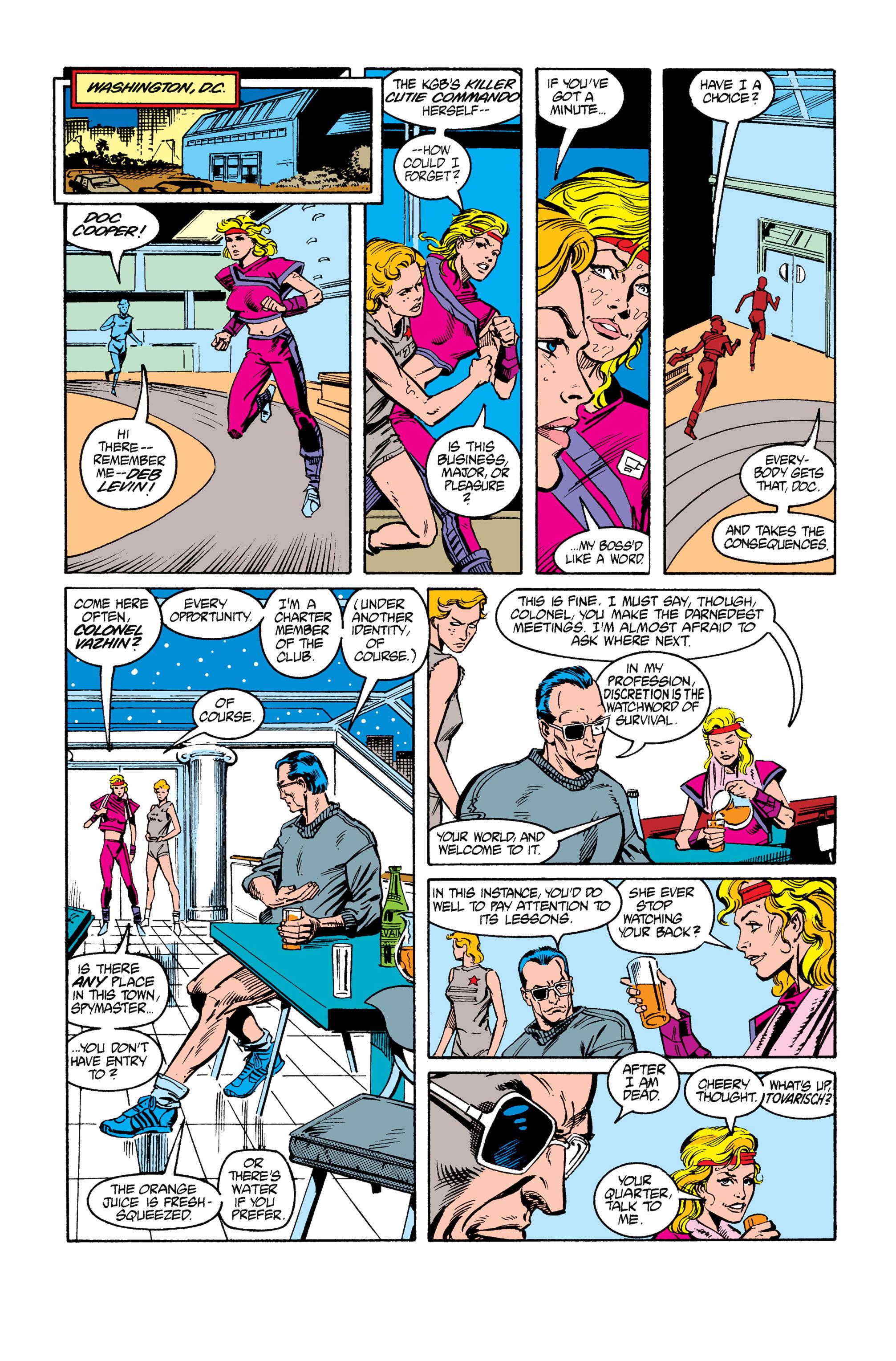 Read online Uncanny X-Men (1963) comic -  Issue #264 - 9