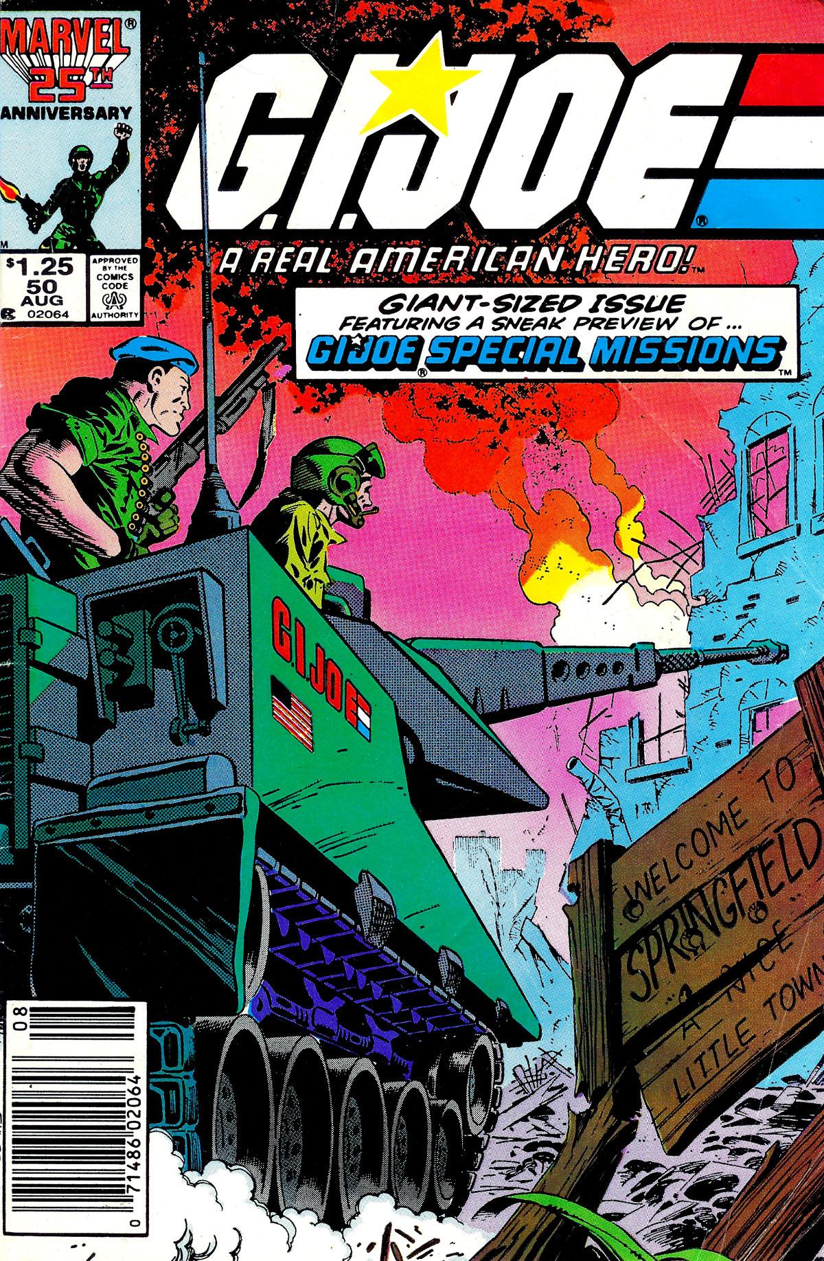 G.I. Joe: A Real American Hero 50 Page 1