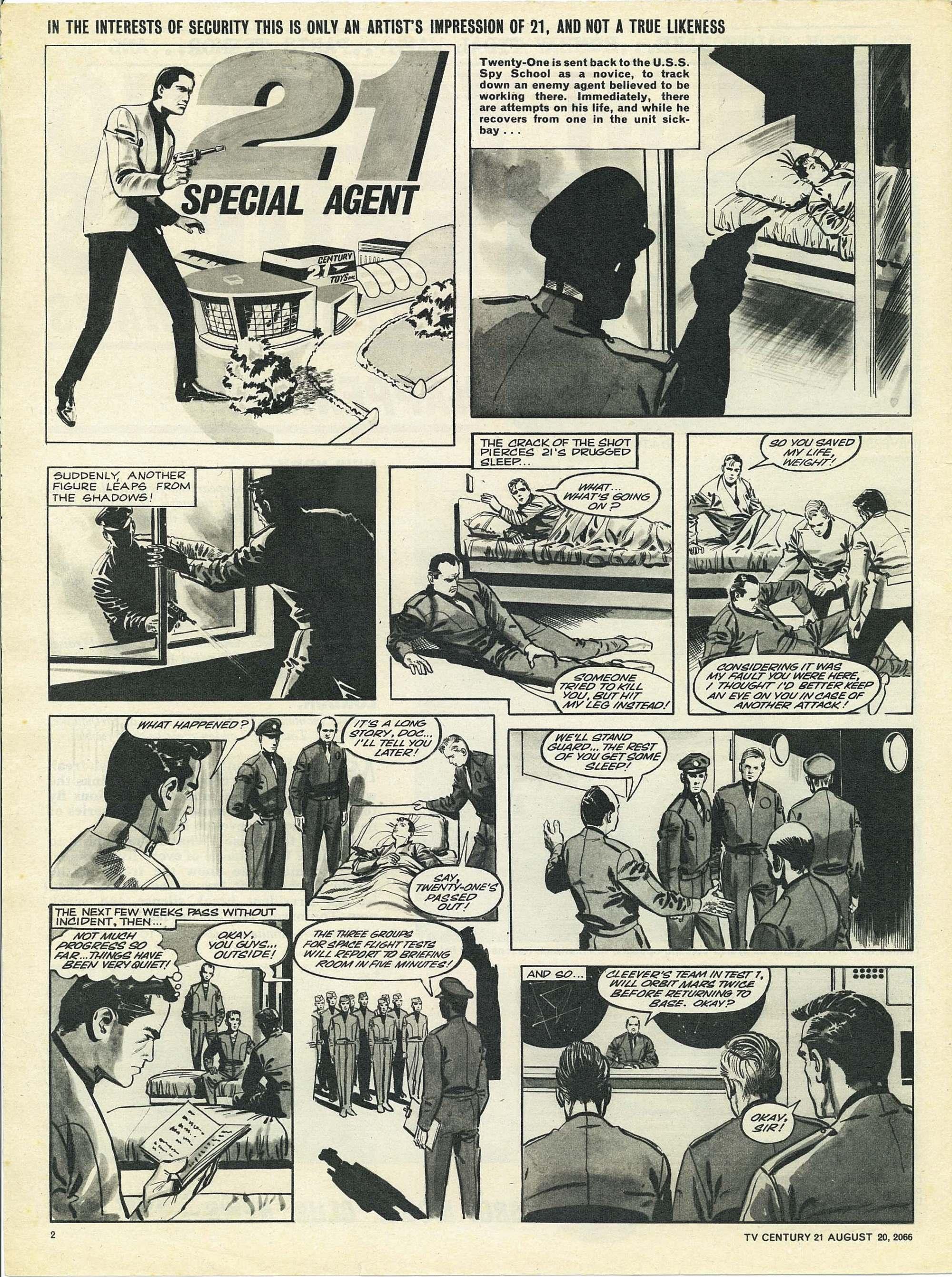 Read online TV Century 21 (TV 21) comic -  Issue #83 - 2