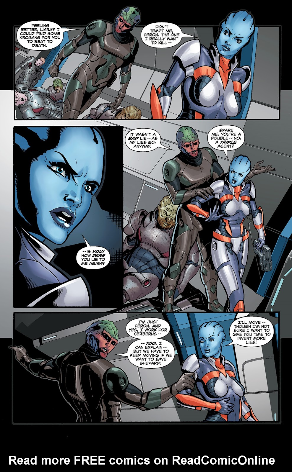Mass Effect: Redemption Issue #4 #4 - English 6