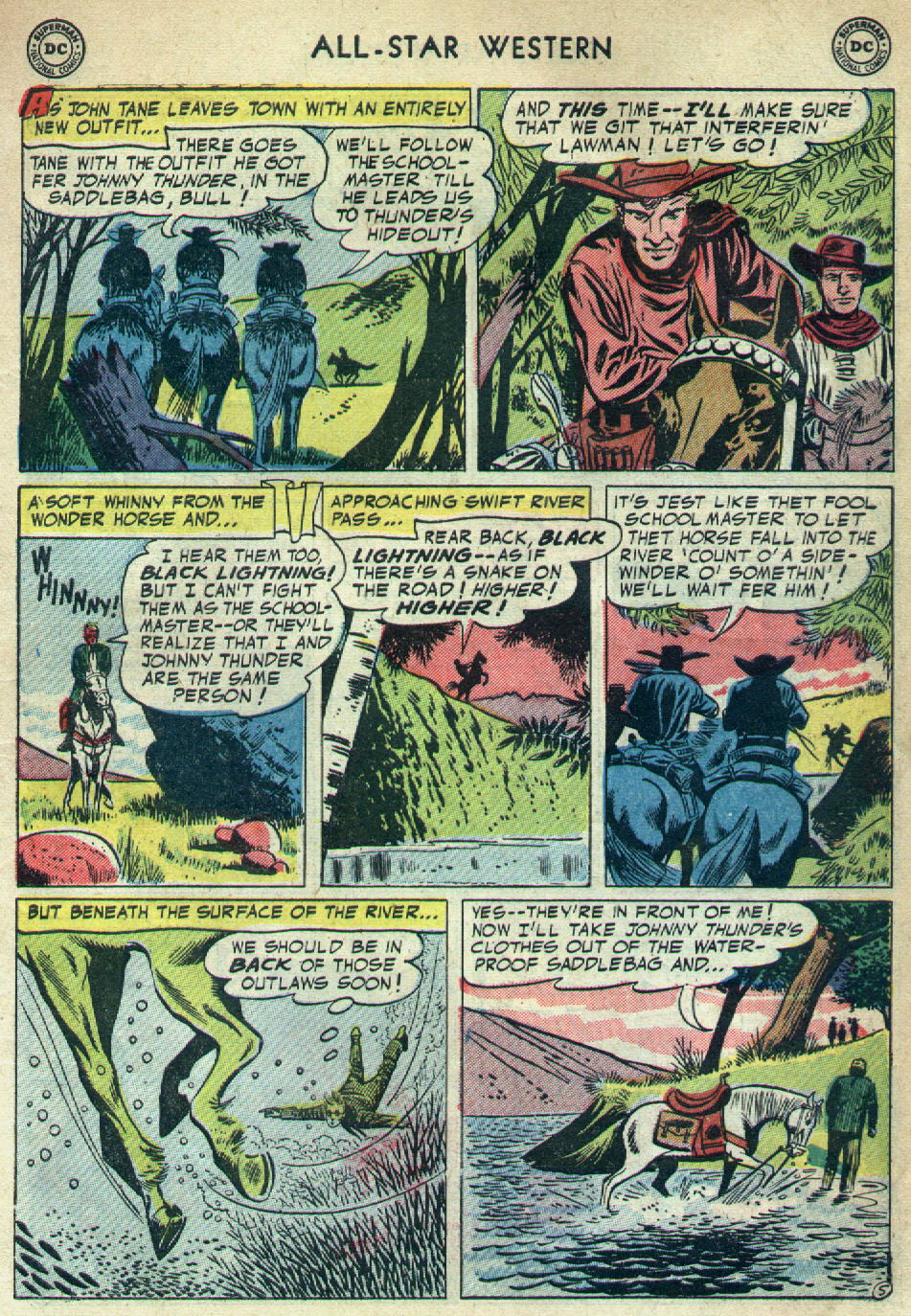Read online All-Star Western (1951) comic -  Issue #79 - 7