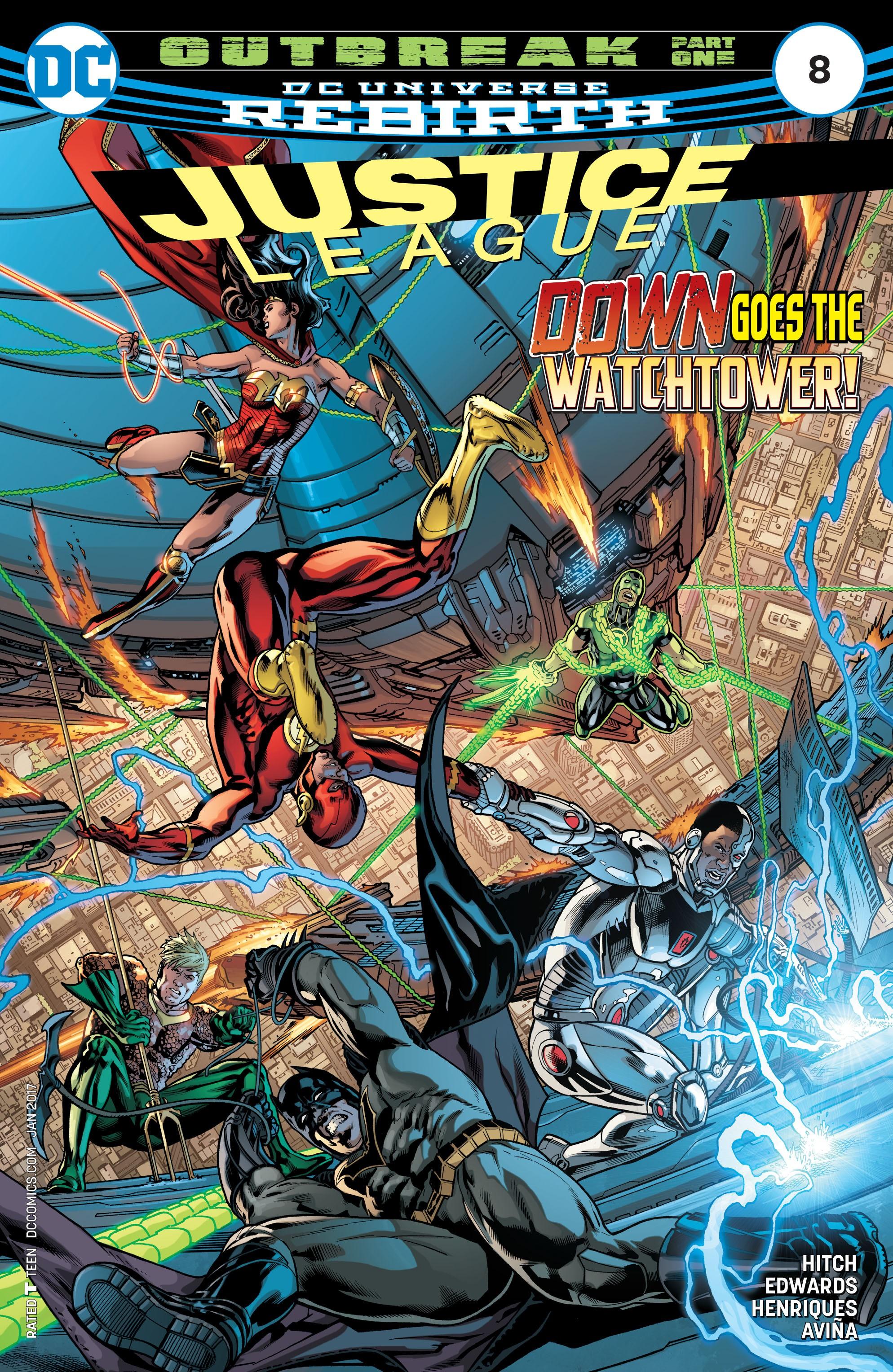 Justice League (2016) 8 Page 1