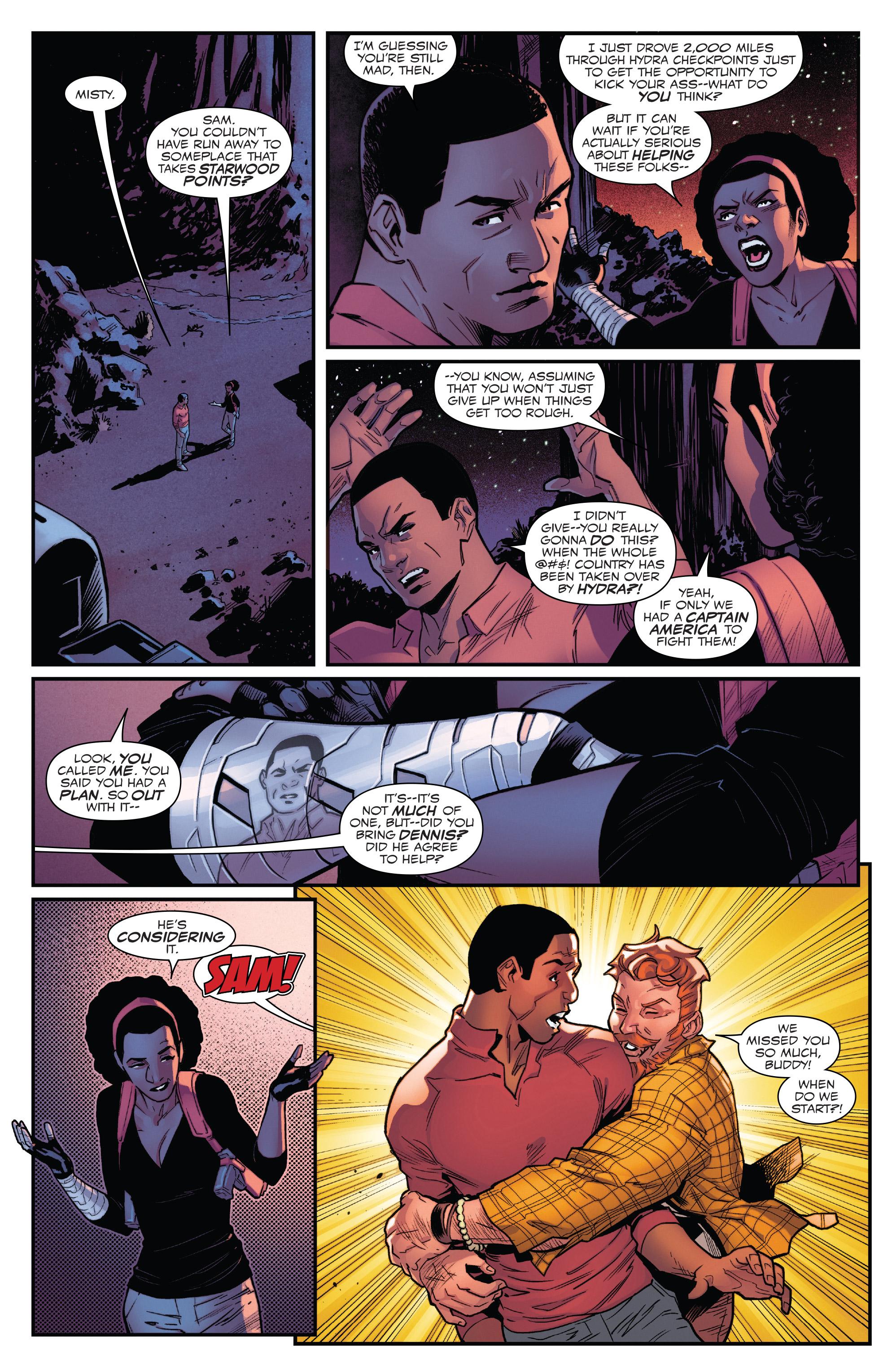 Read online Captain America: Sam Wilson comic -  Issue #22 - 16