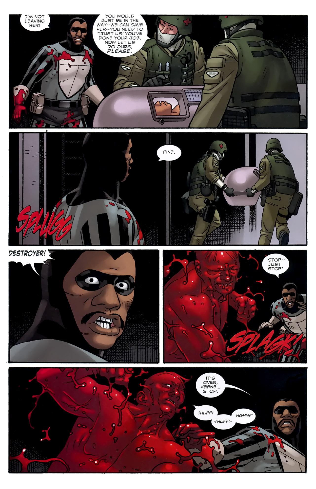 Read online Destroyer comic -  Issue #3 - 21