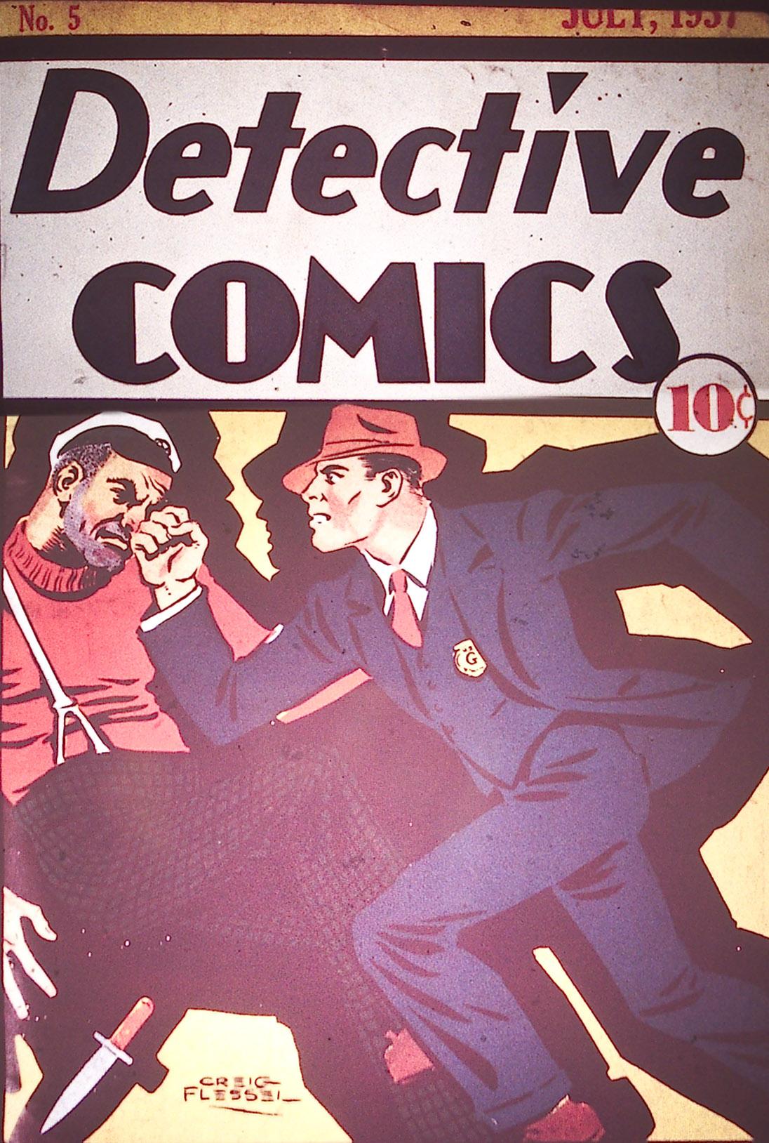 Detective Comics (1937) 5 Page 1
