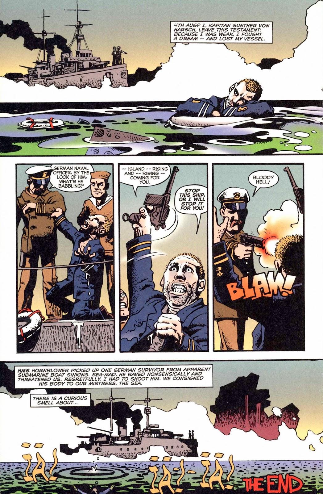 Read online Weird War Tales (1997) comic -  Issue #1 - 9