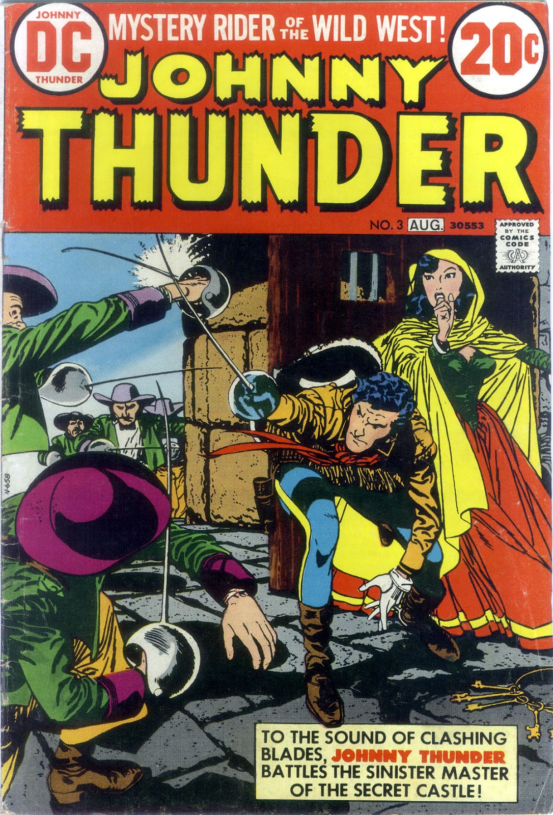 Johnny Thunder issue 3 - Page 1