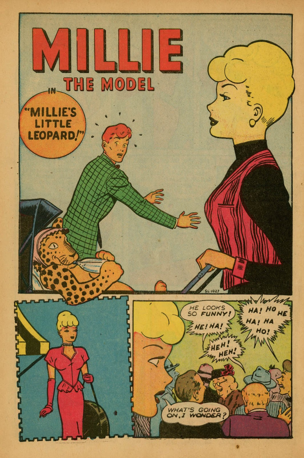 Read online Millie the Model comic -  Issue #7 - 10