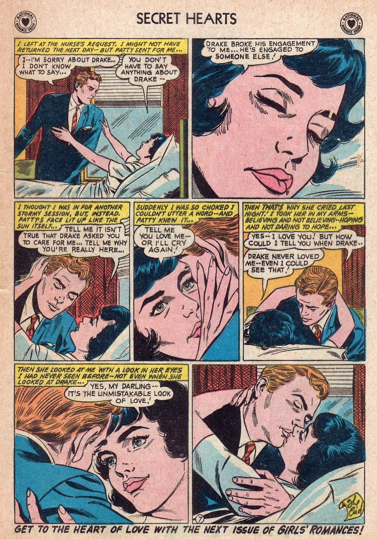 Read online Secret Hearts comic -  Issue #73 - 17