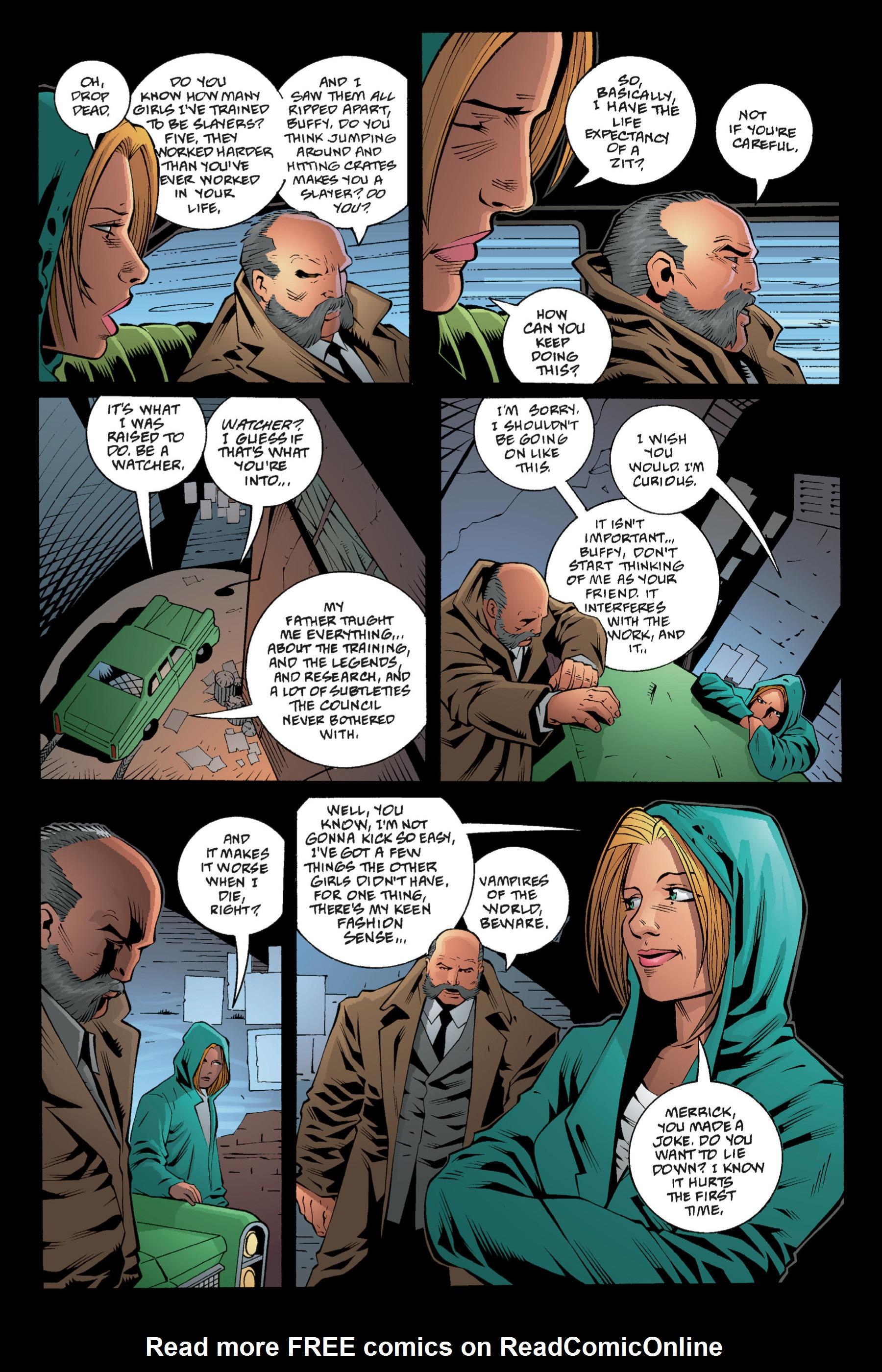 Read online Buffy the Vampire Slayer: Omnibus comic -  Issue # TPB 1 - 71