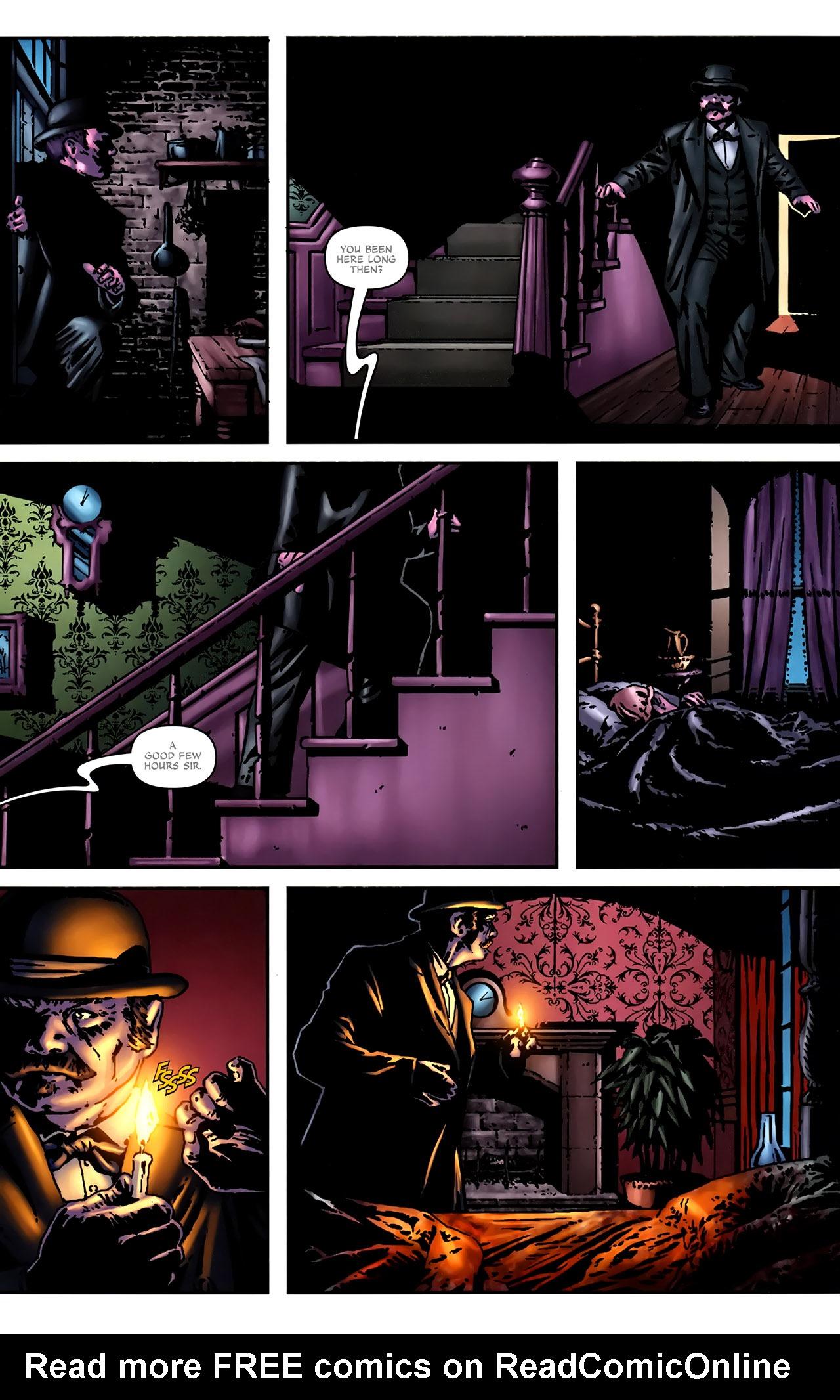 Read online Sherlock Holmes (2009) comic -  Issue #2 - 20