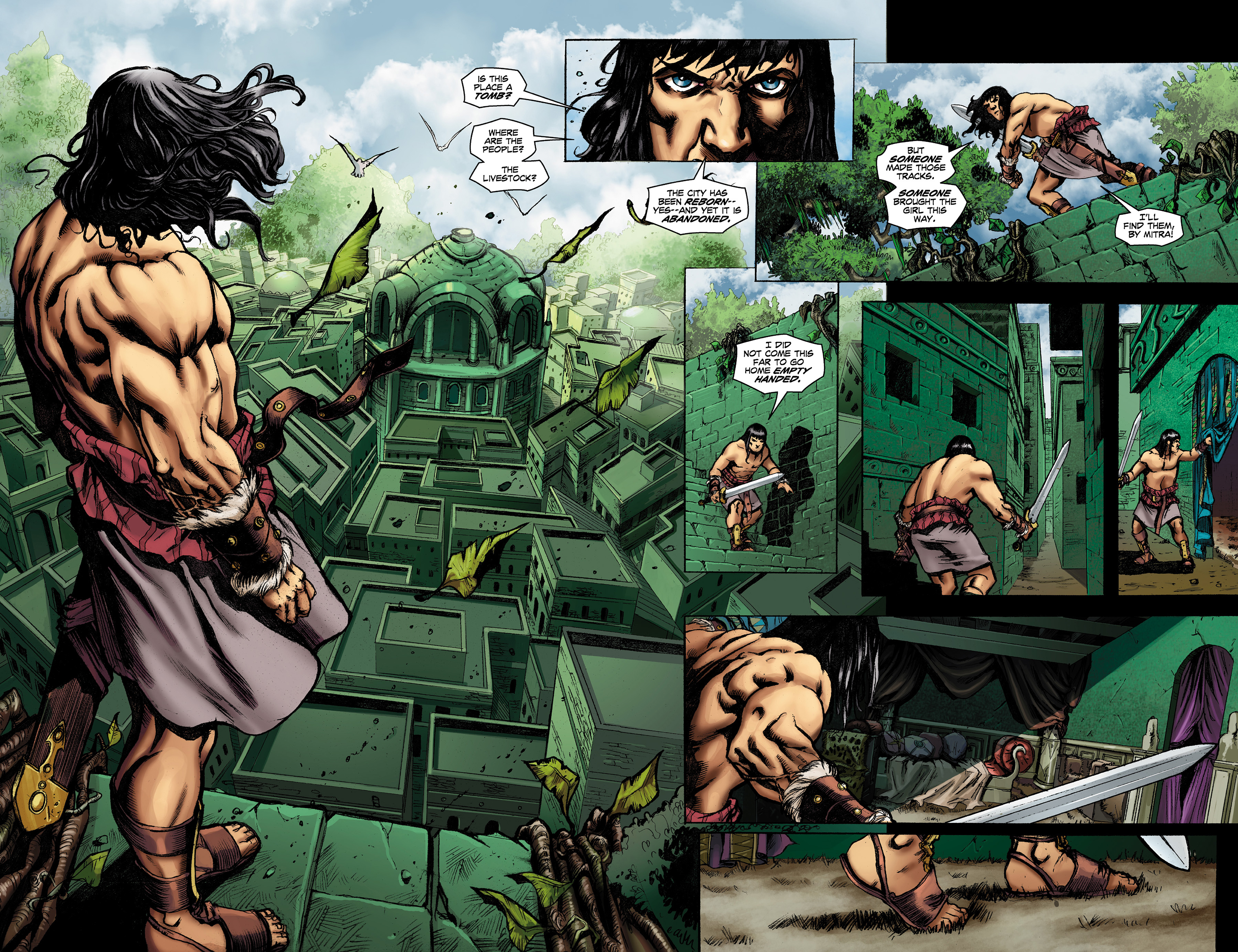 Read online Conan The Slayer comic -  Issue #9 - 7