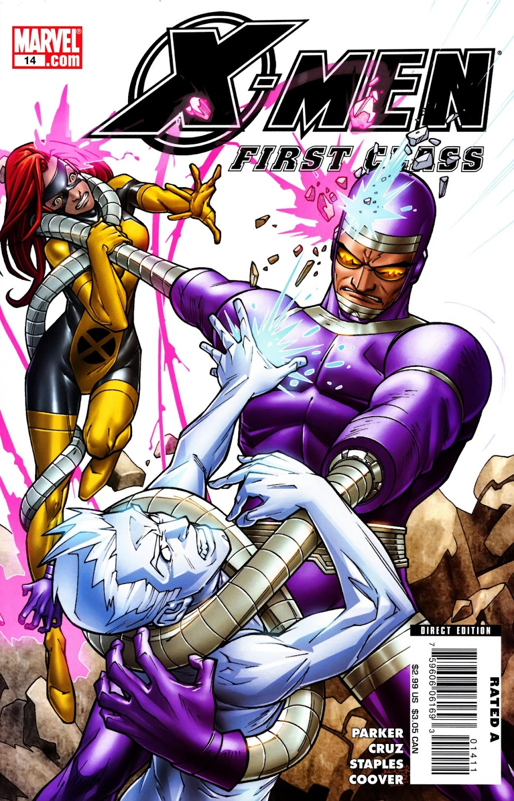 X-Men: First Class (2007) issue 14 - Page 1