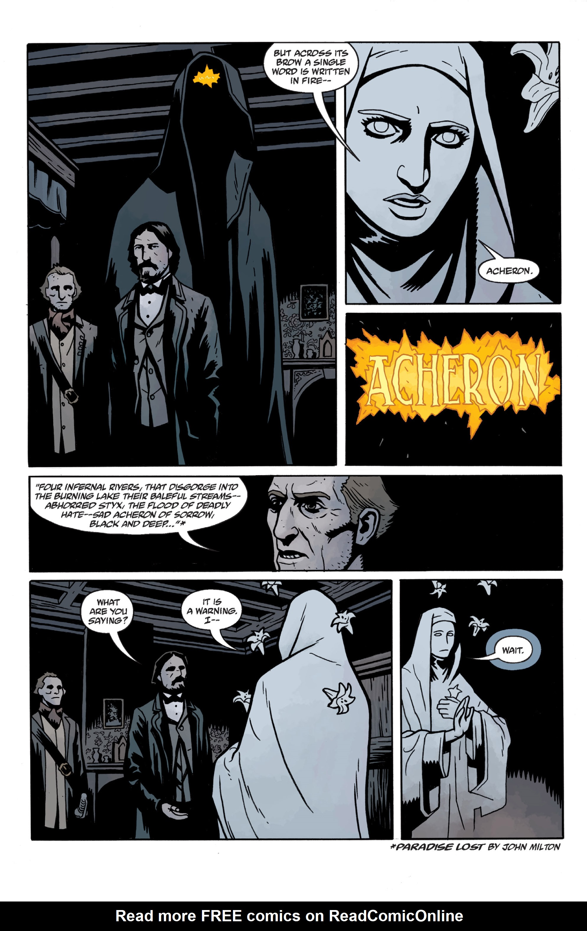 Read online Sir Edward Grey, Witchfinder: In the Service of Angels comic -  Issue # TPB - 49