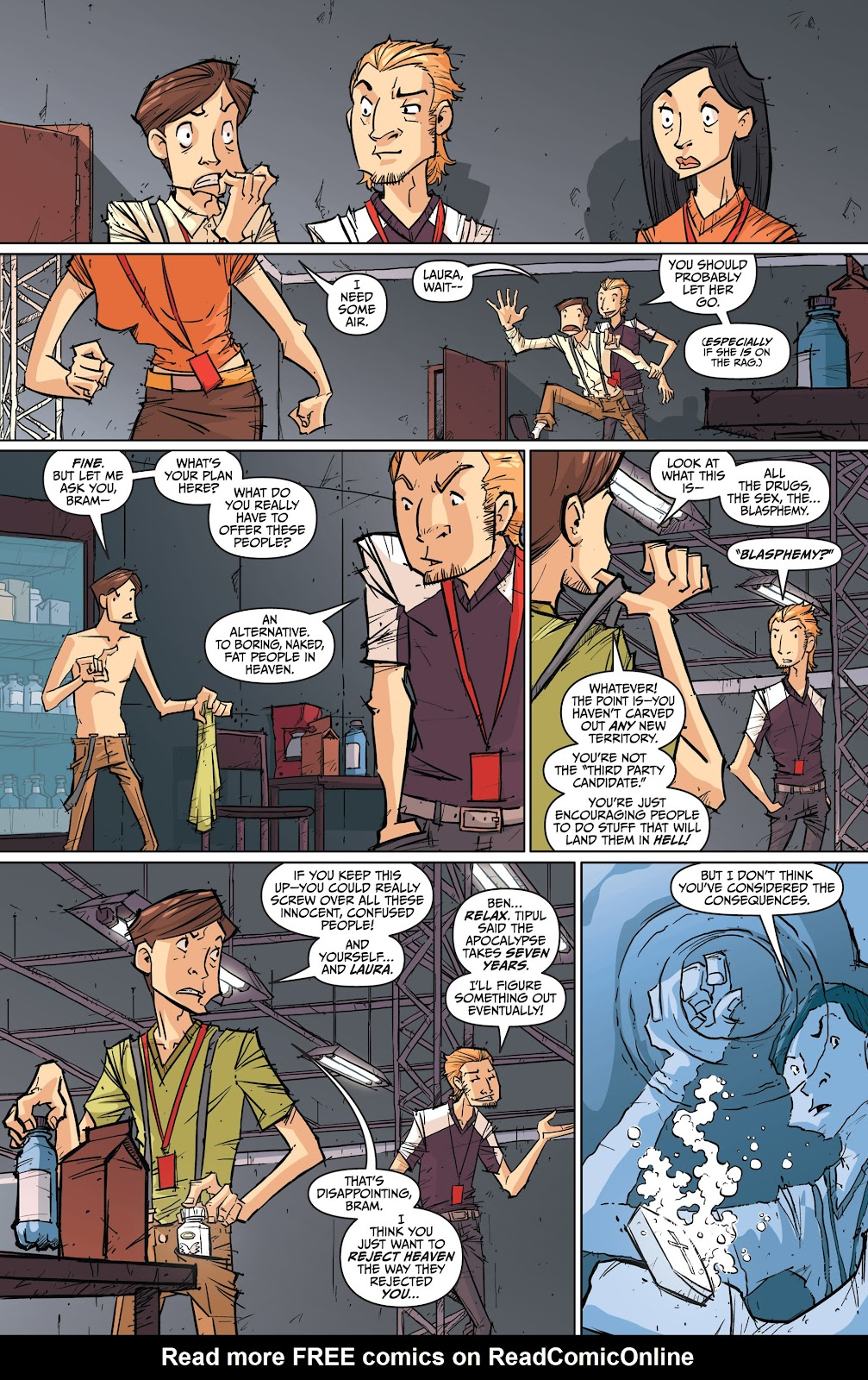 Read online The End Times of Bram and Ben comic -  Issue #3 - 10