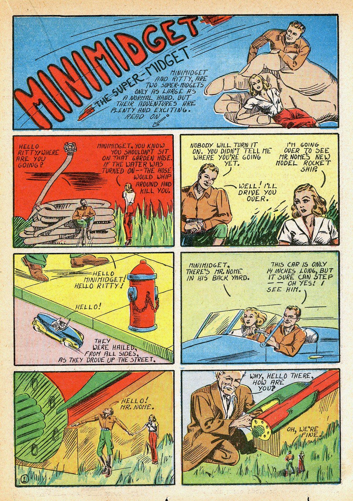 Read online Amazing Man Comics comic -  Issue #10 - 38