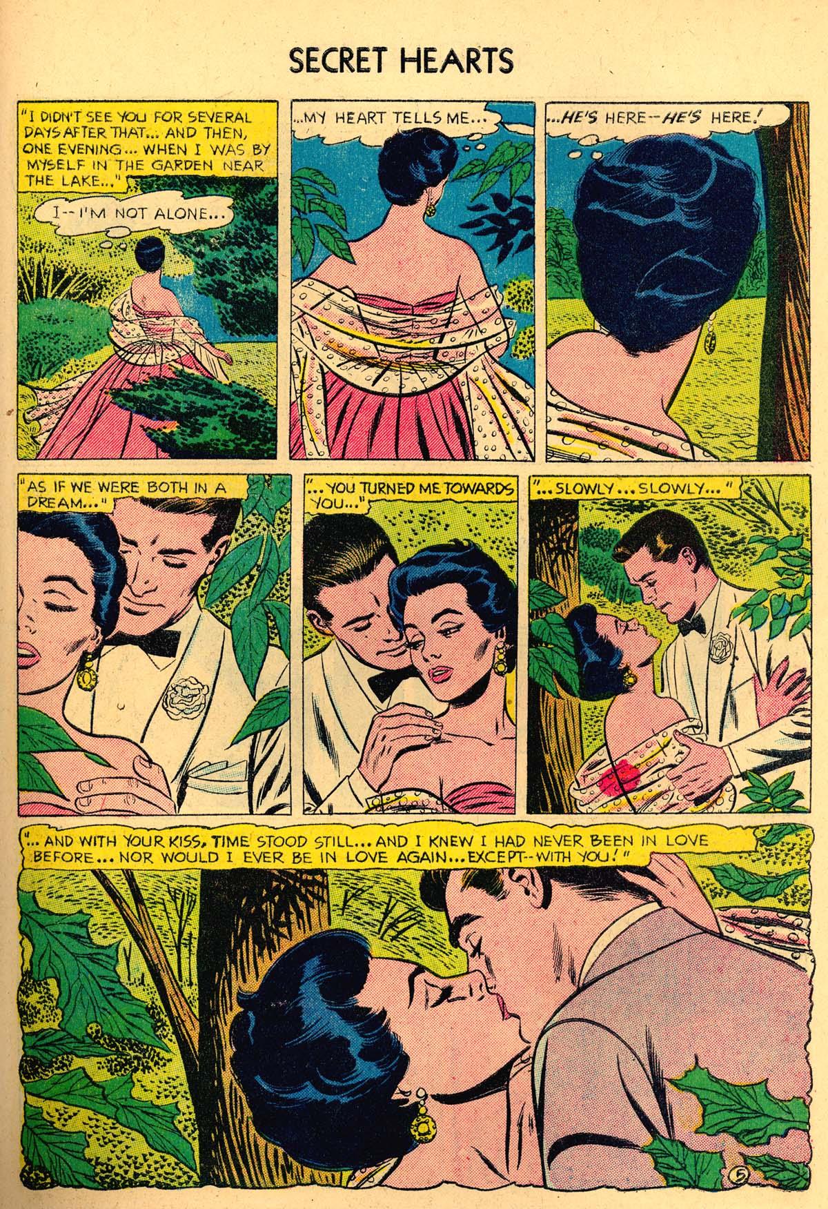 Read online Secret Hearts comic -  Issue #35 - 31
