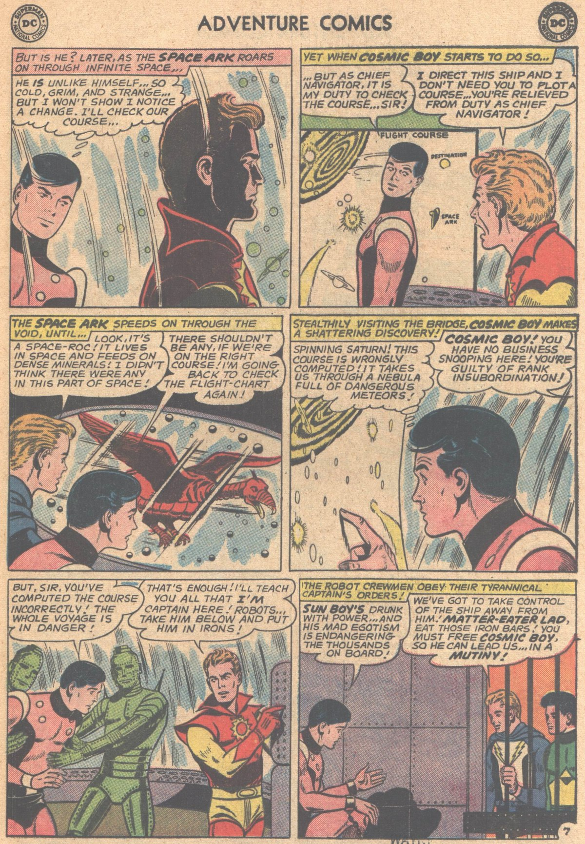 Read online Adventure Comics (1938) comic -  Issue #318 - 9