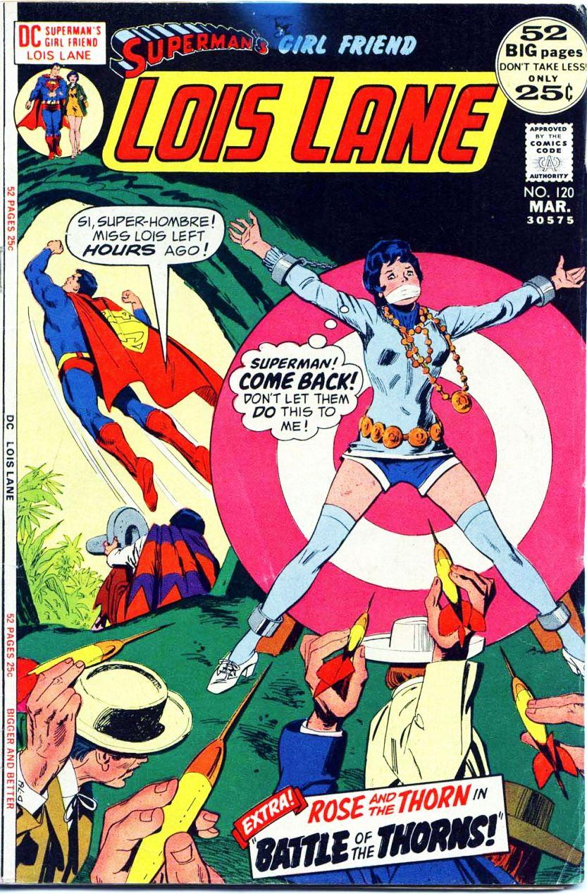 Supermans Girl Friend, Lois Lane 120 Page 1