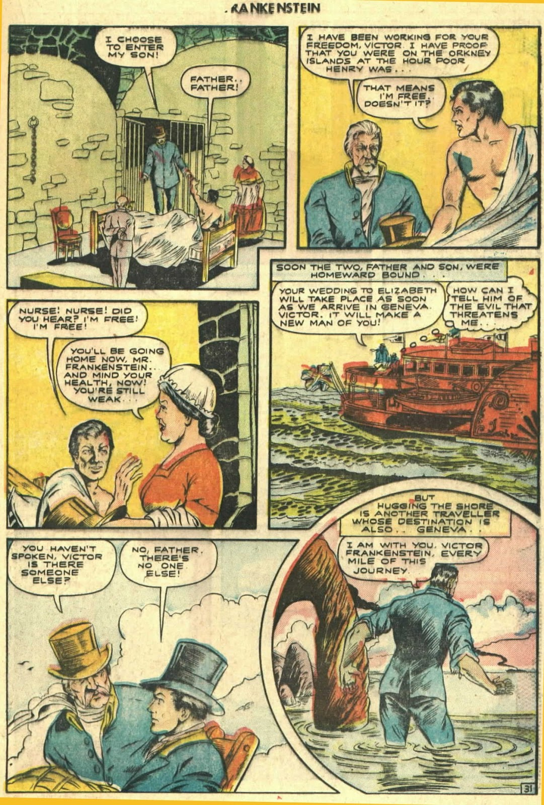 Classics Illustrated issue 26 - Page 33