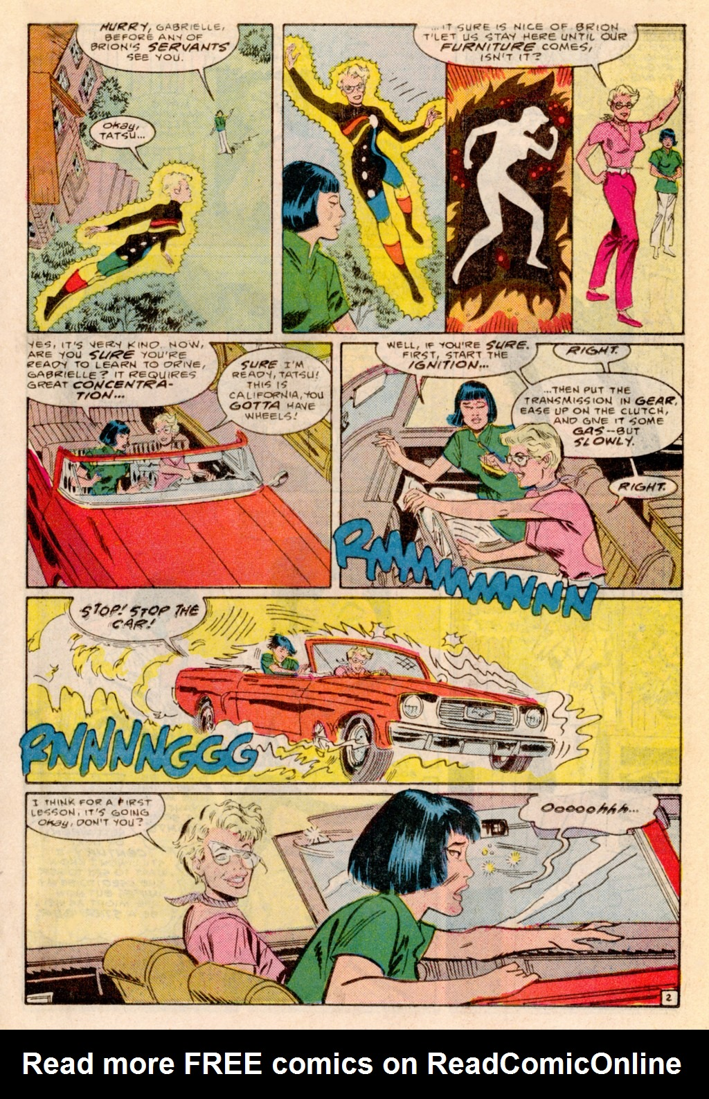 Read online Adventures of the Outsiders comic -  Issue #38 - 14