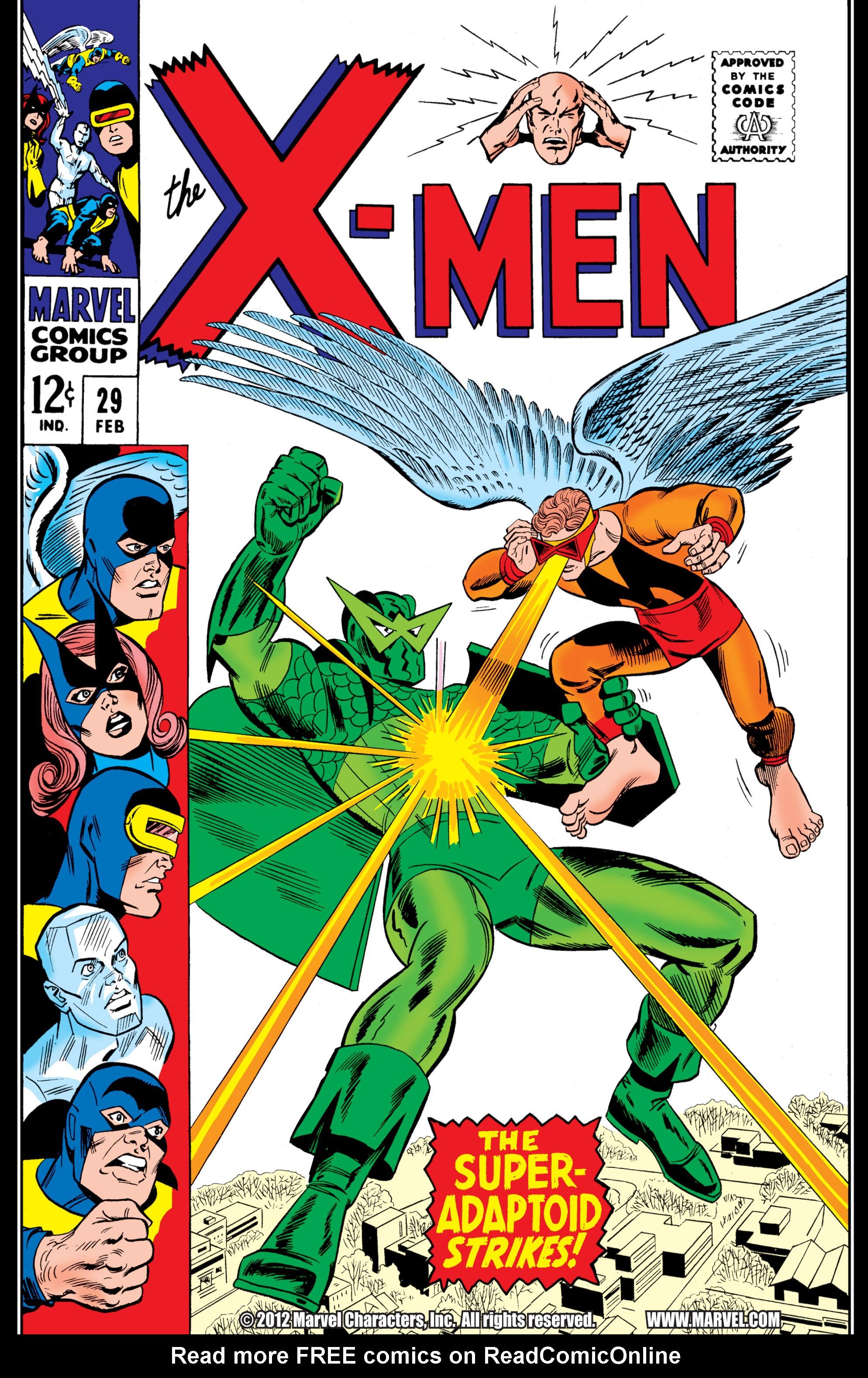 Read online Uncanny X-Men (1963) comic -  Issue #29 - 1