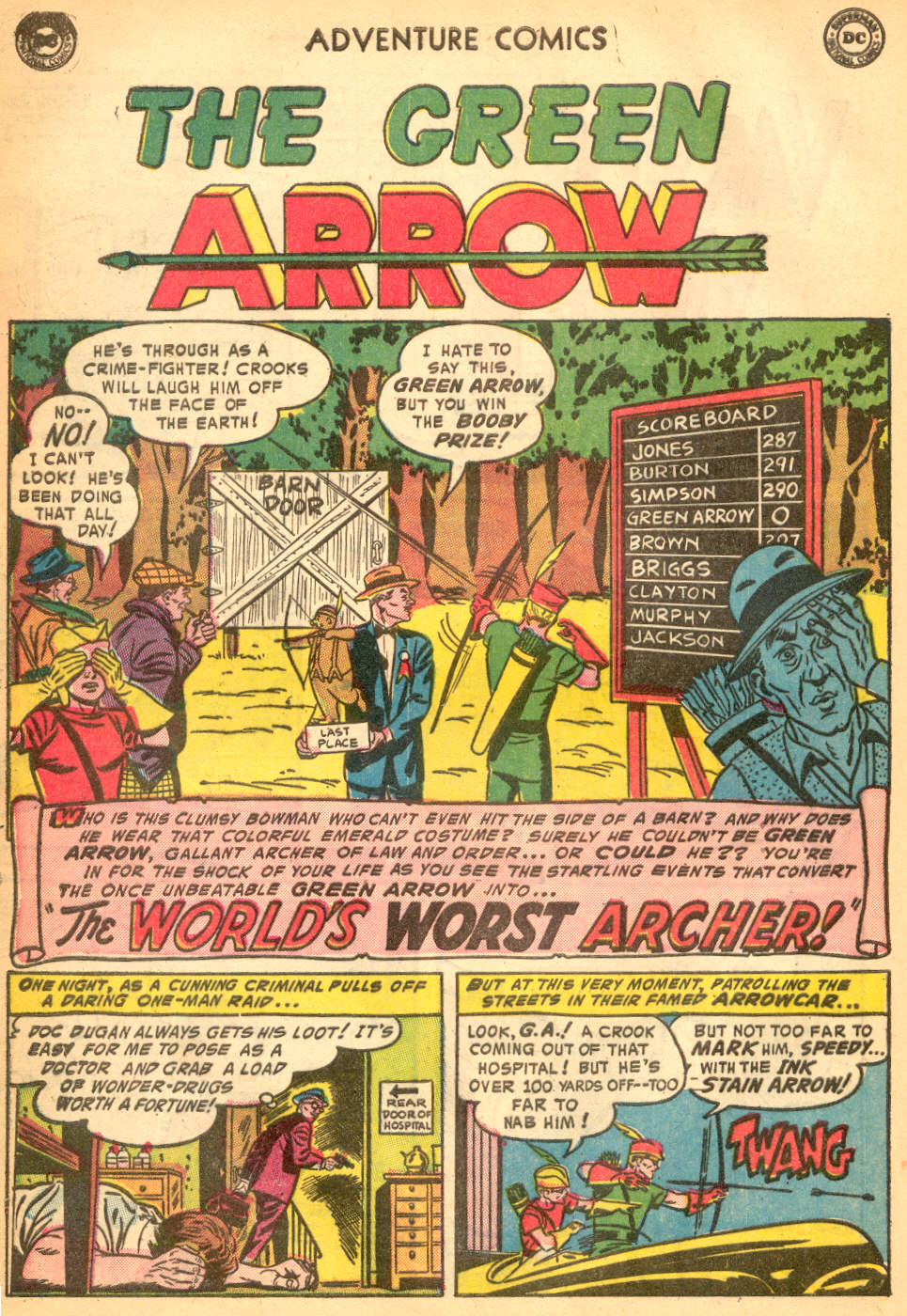 Read online Adventure Comics (1938) comic -  Issue #200 - 34