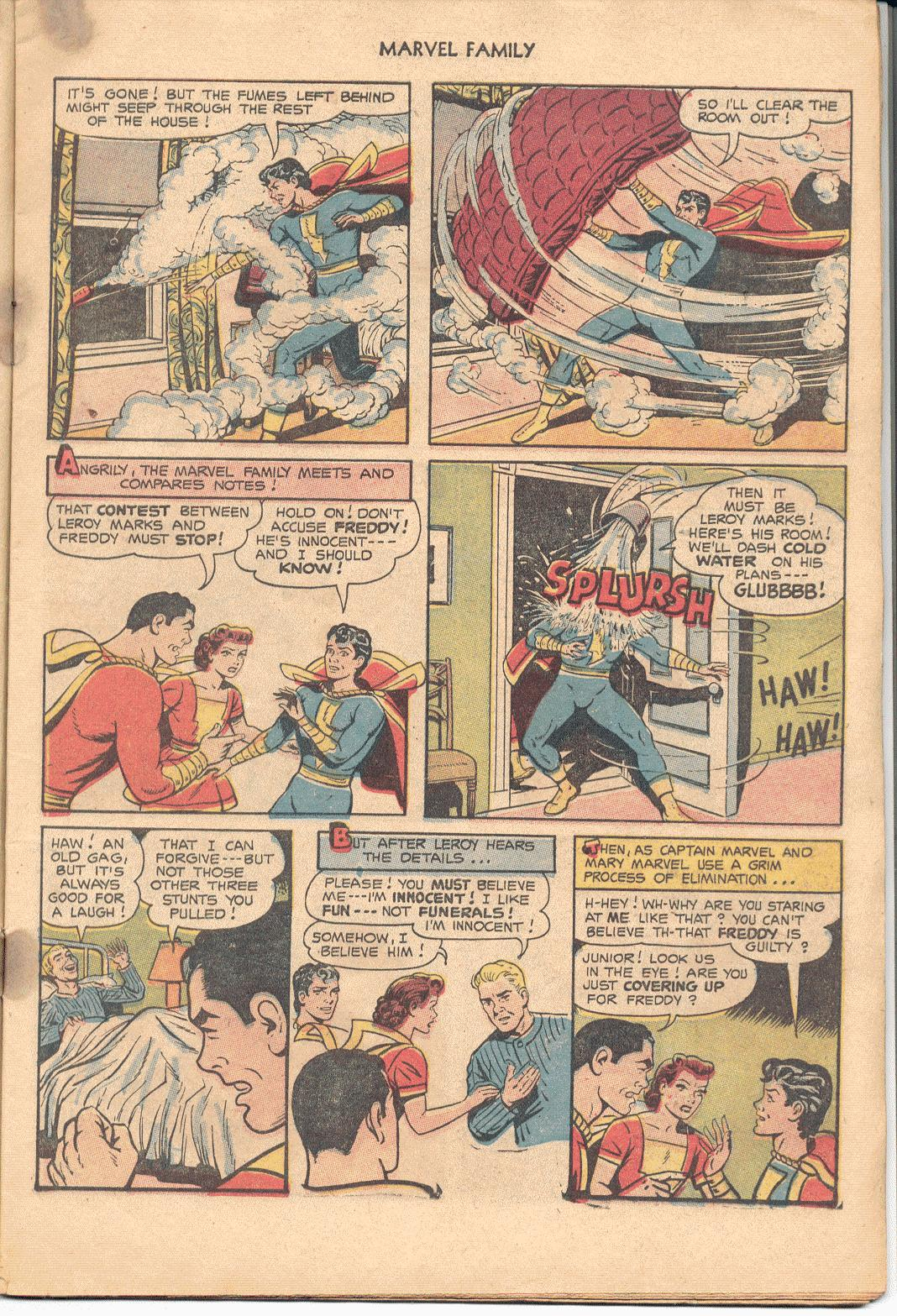 The Marvel Family issue 88 - Page 7