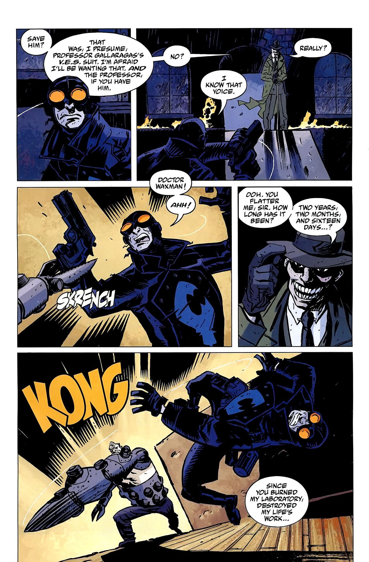 Read online Lobster Johnson: The Iron Prometheus comic -  Issue #2 - 11