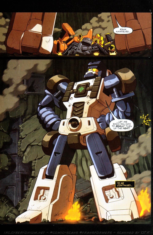 Read online Transformers Armada comic -  Issue #10 - 24