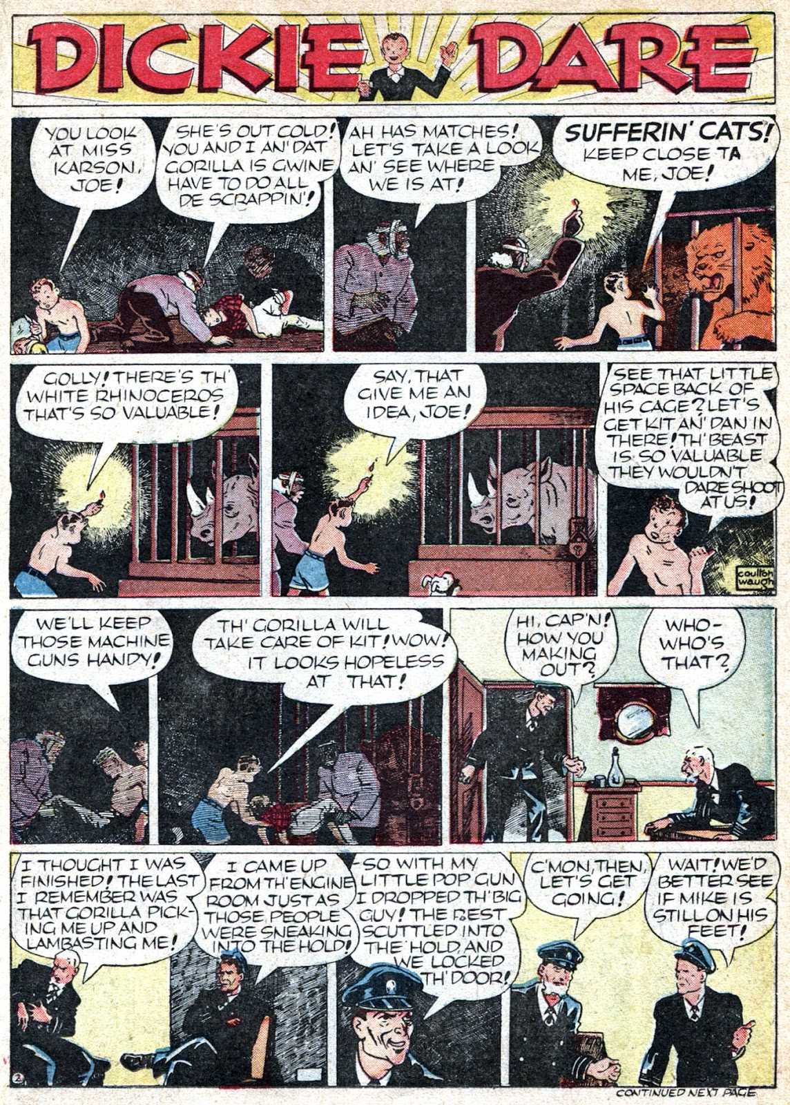 Read online Famous Funnies comic -  Issue #66 - 25