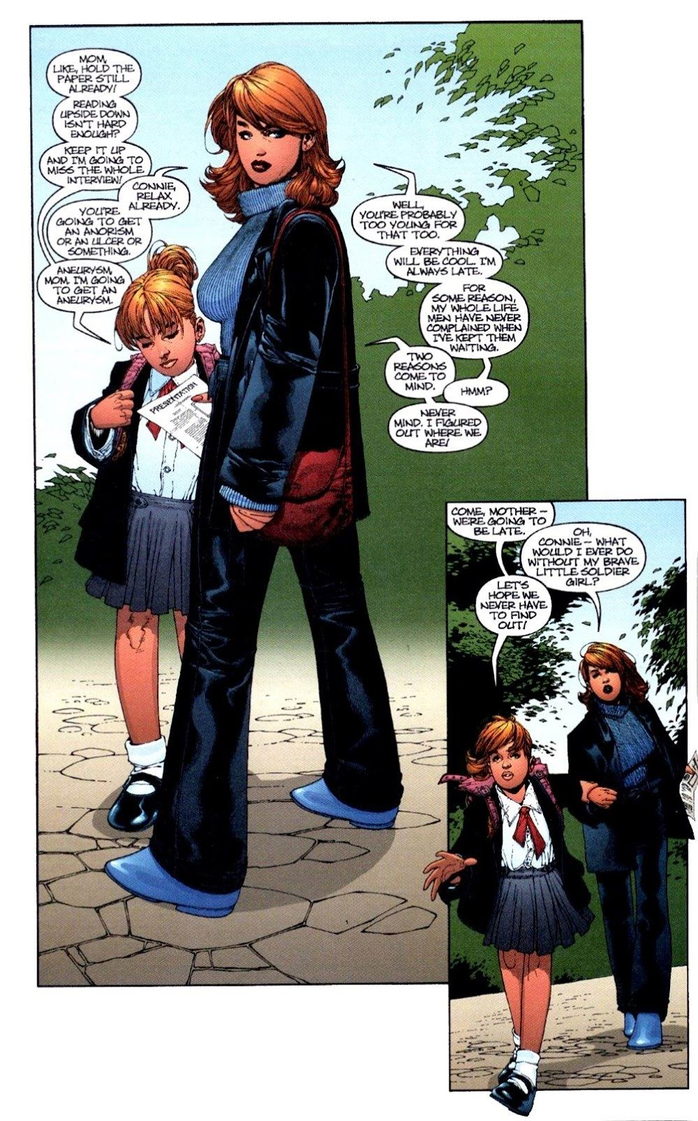 Wildcats (1999) Issue #3 #4 - English 5
