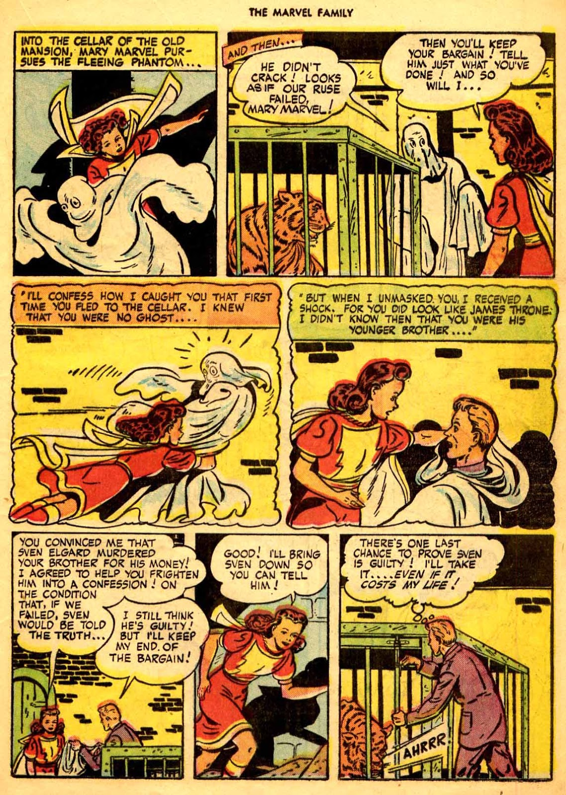 The Marvel Family issue 9 - Page 35