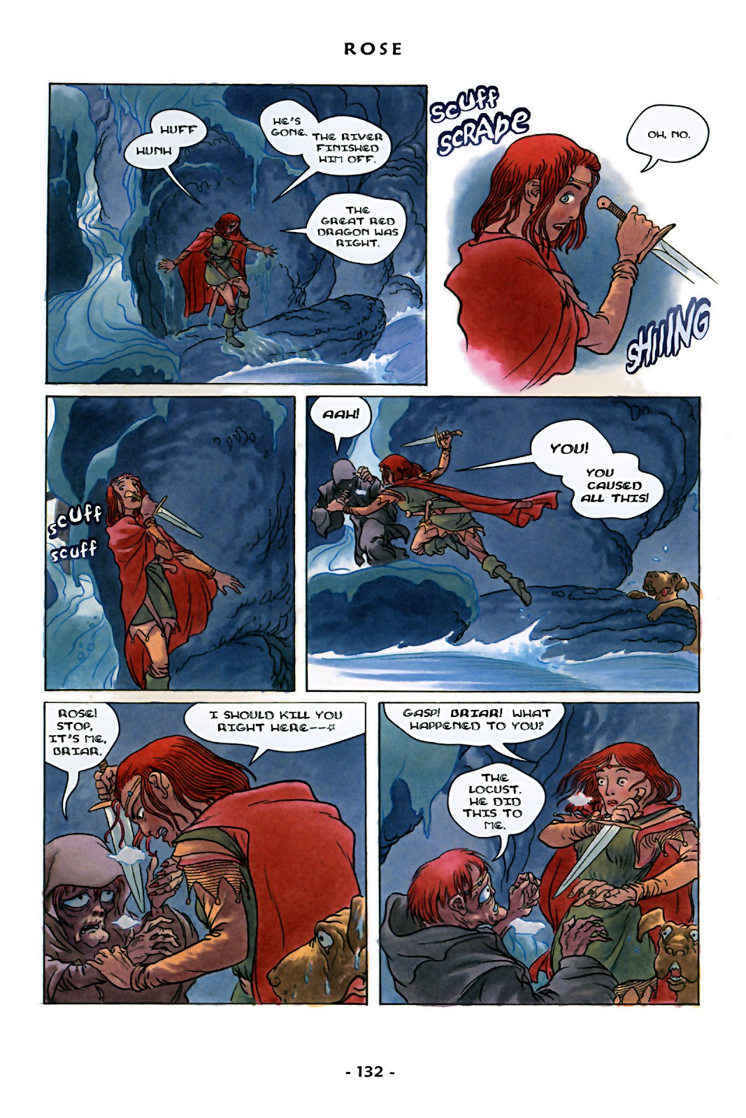 Read online Rose (2000) comic -  Issue # TPB - 137