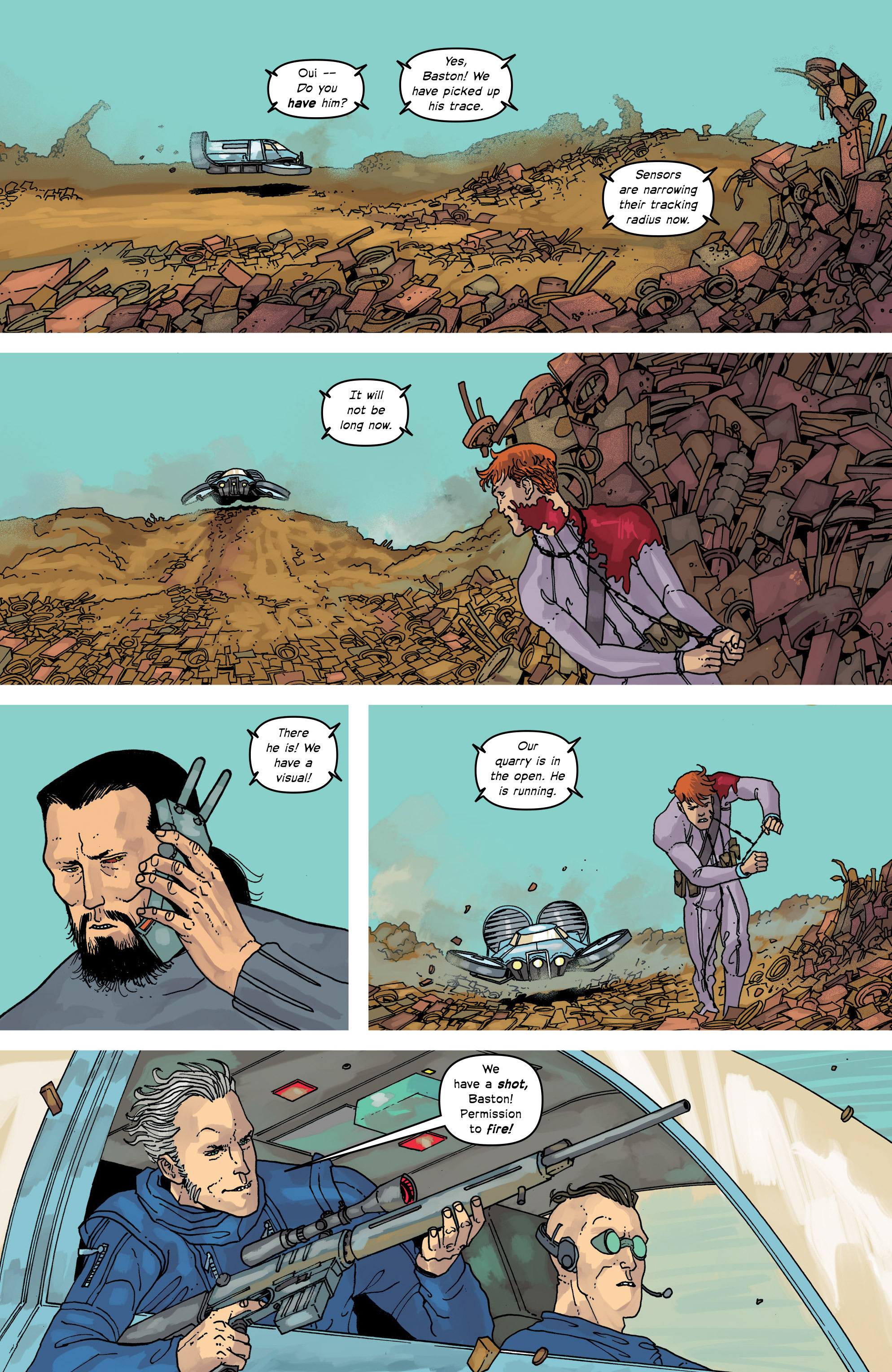 Read online Great Pacific comic -  Issue #17 - 7